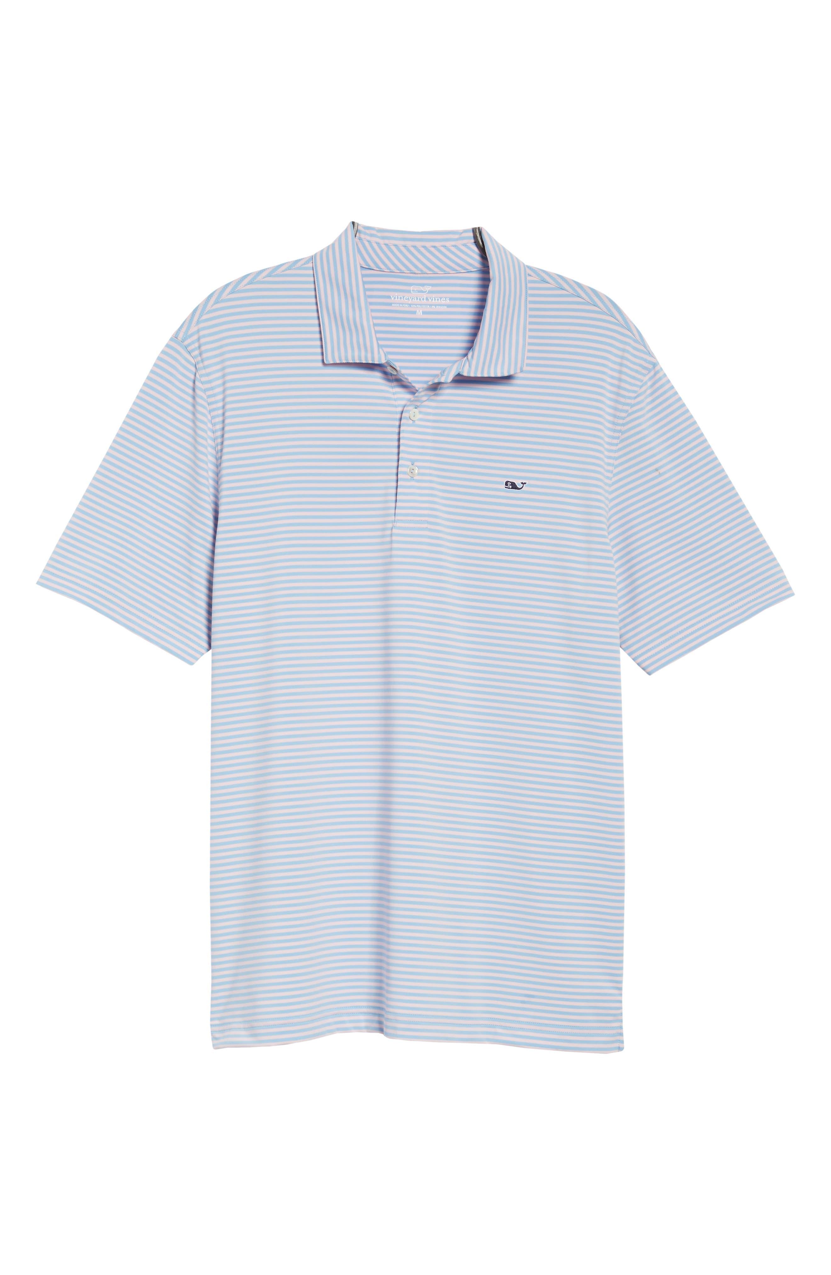 Kennedy Stripe Golf Polo,                             Alternate thumbnail 102, color,