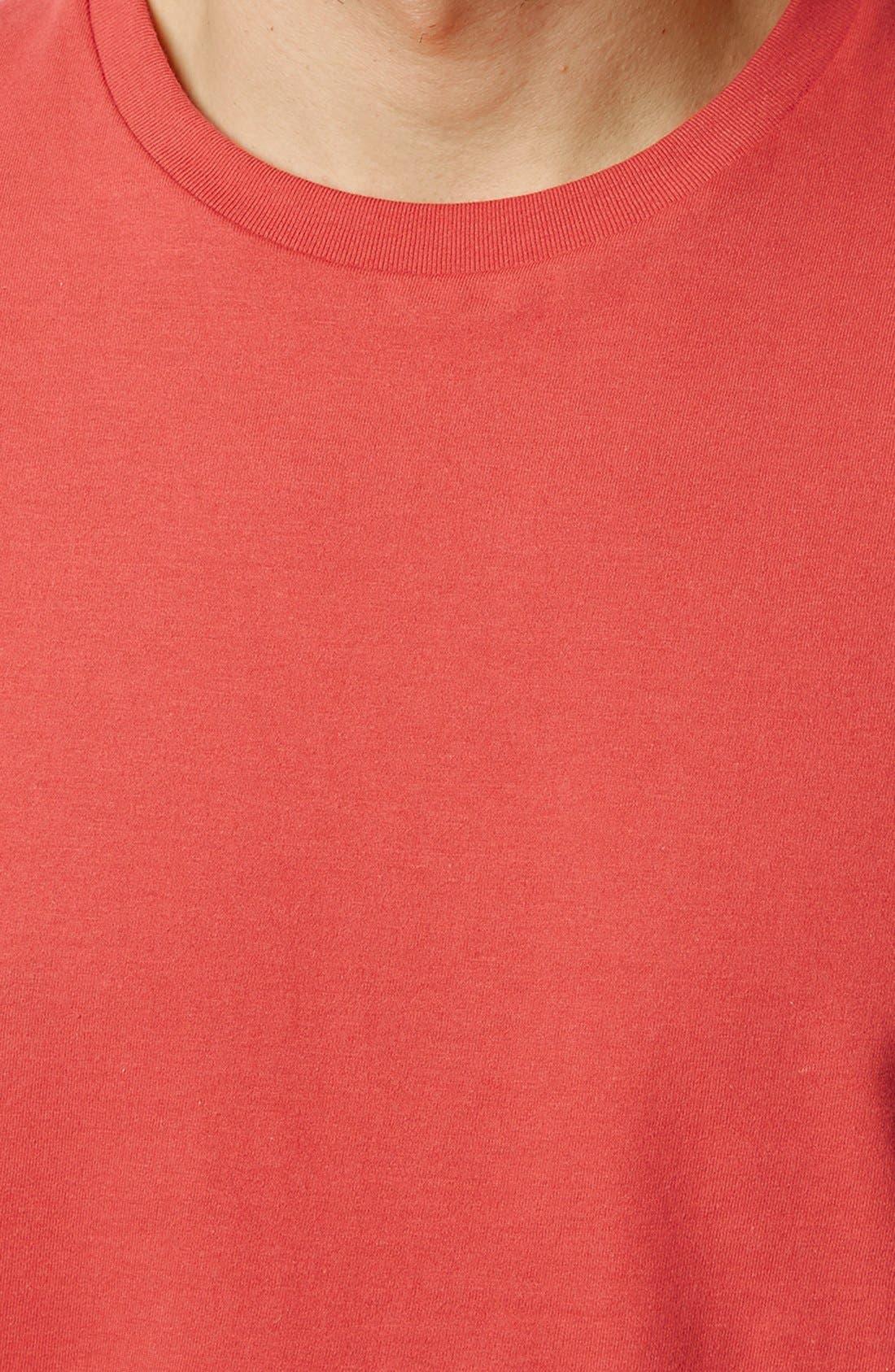 Slim Fit Crewneck T-Shirt,                             Alternate thumbnail 180, color,