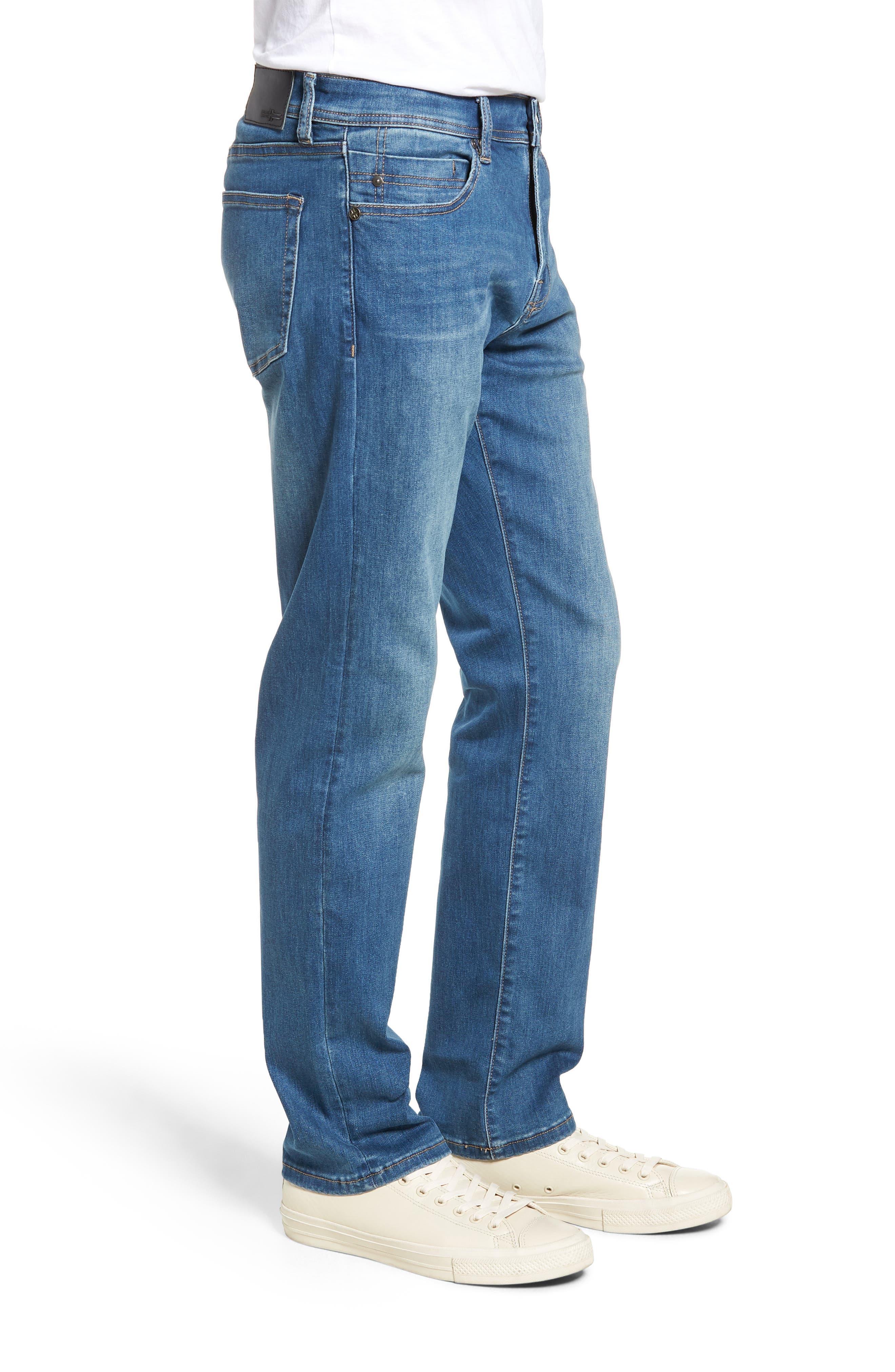 Regent Relaxed Straight Leg Jeans,                             Alternate thumbnail 3, color,                             LORAIN