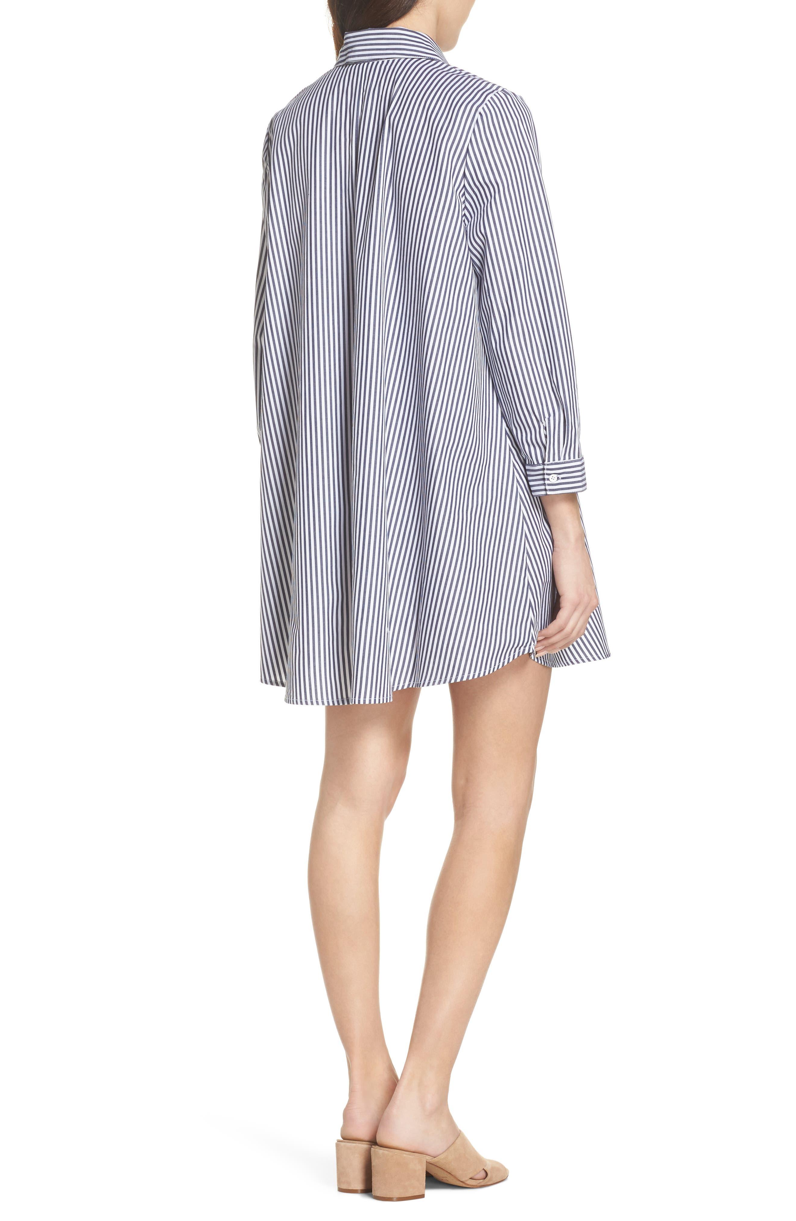 Olsen Stripe Shirtdress,                             Alternate thumbnail 2, color,