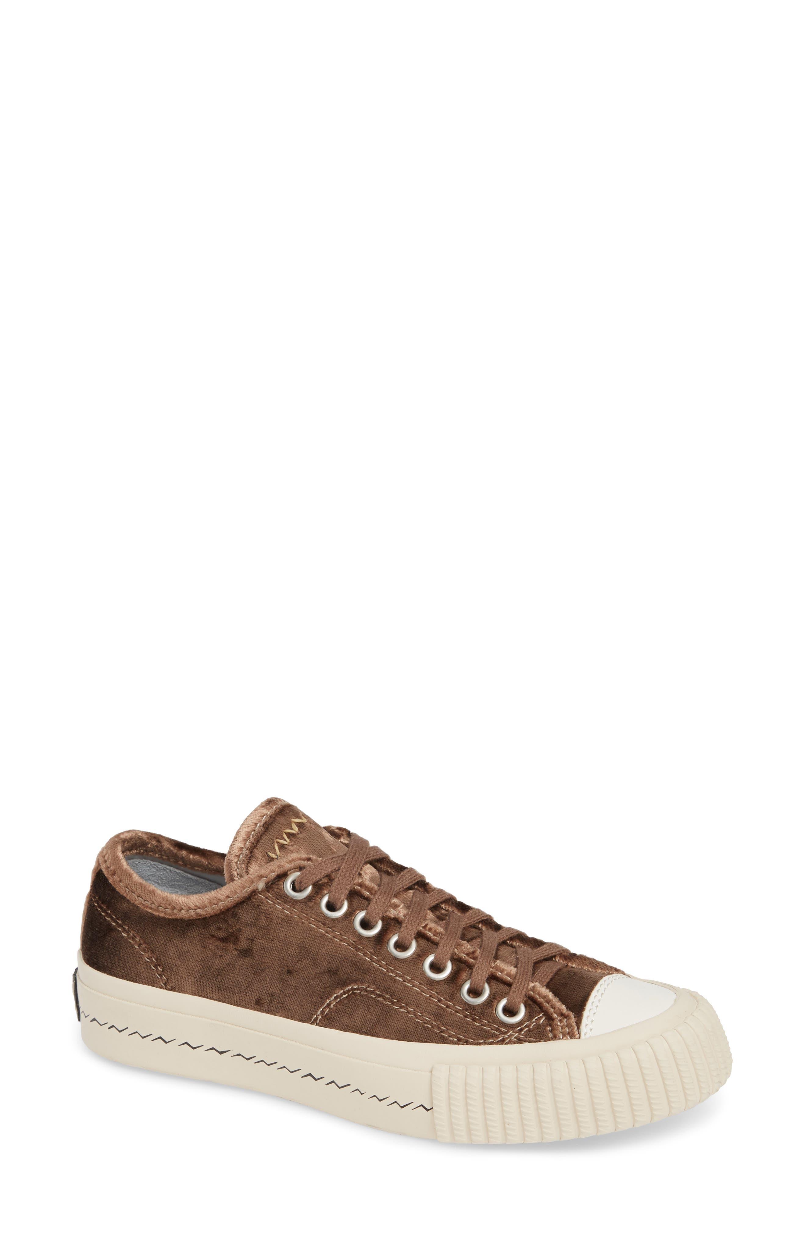 Skagway Lo Sneaker,                         Main,                         color, BROWN