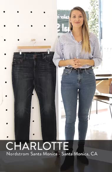 Emma High Rise Stretch Straight Leg Jeans, sales video thumbnail