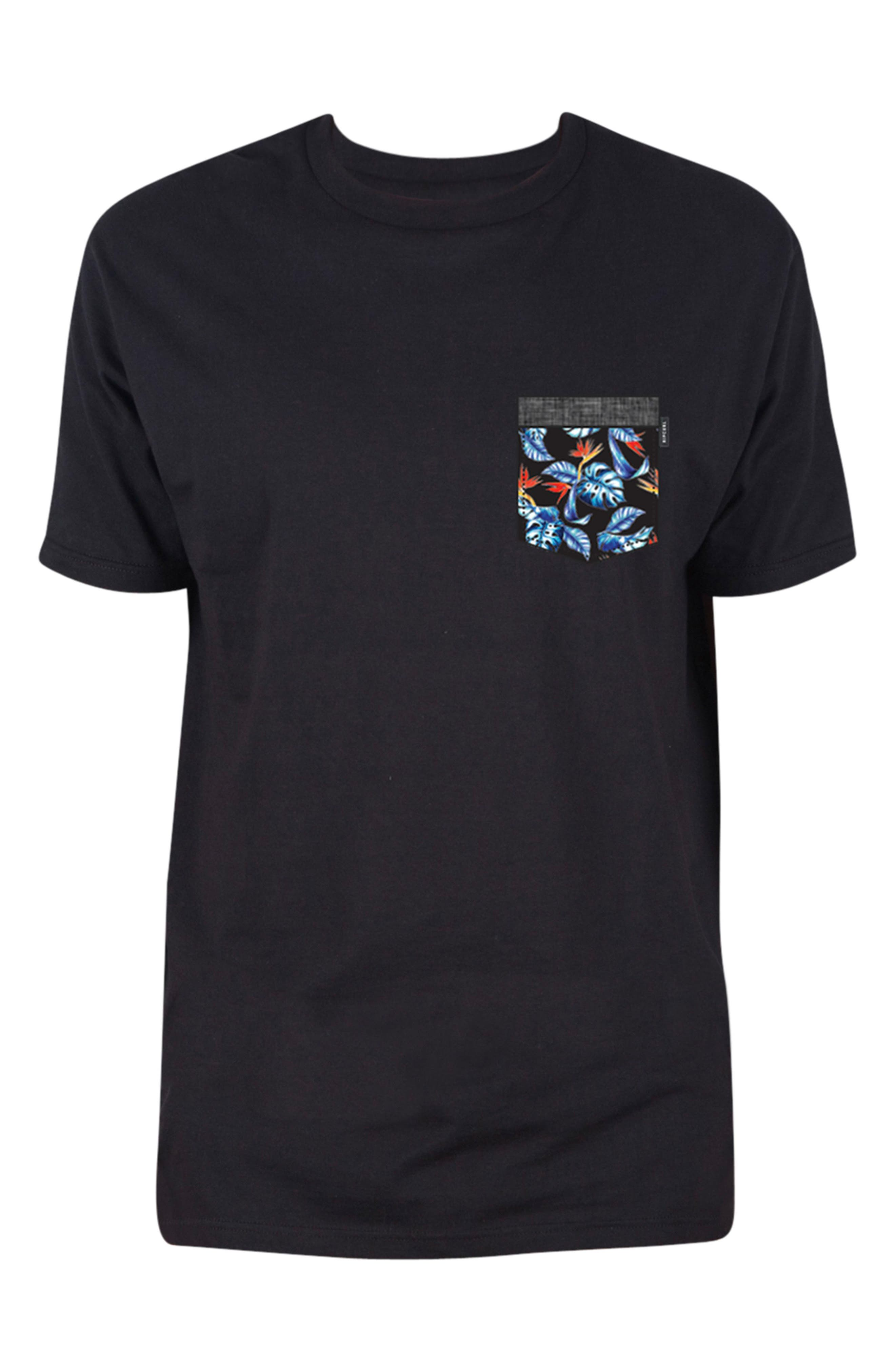 Mack Pocket T-Shirt,                         Main,                         color, 001