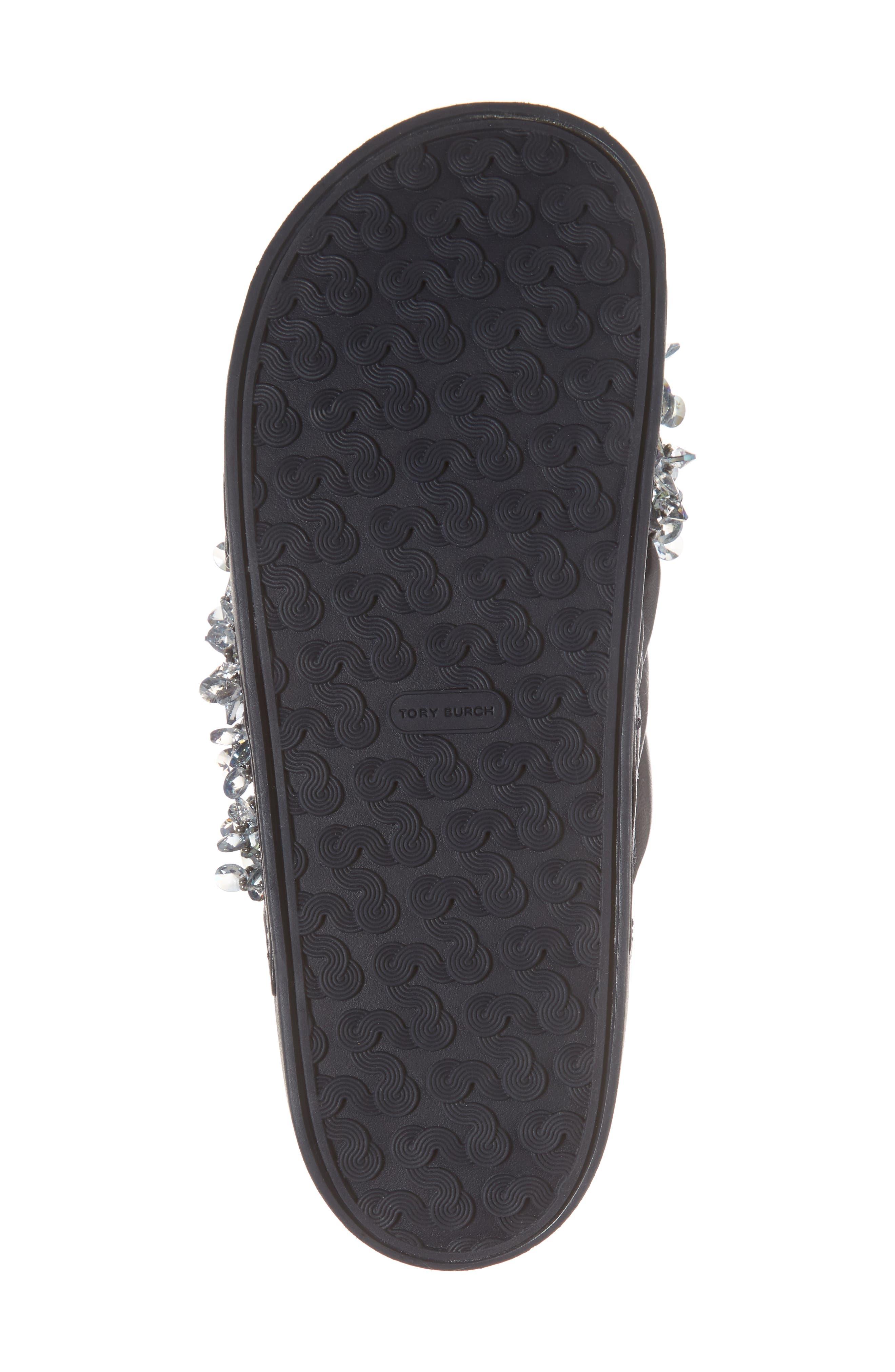 Logan Embellished Slide Sandal,                             Alternate thumbnail 12, color,