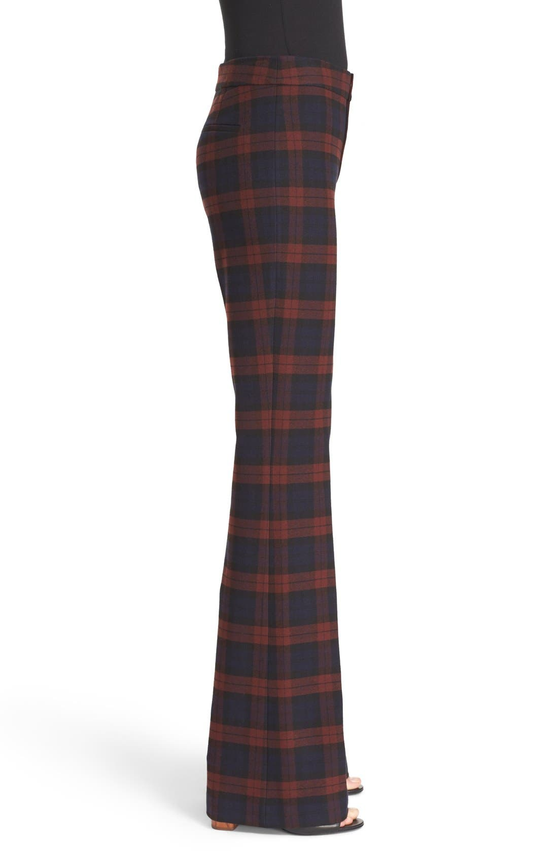 Plaid Flannel Pants,                             Alternate thumbnail 4, color,                             400