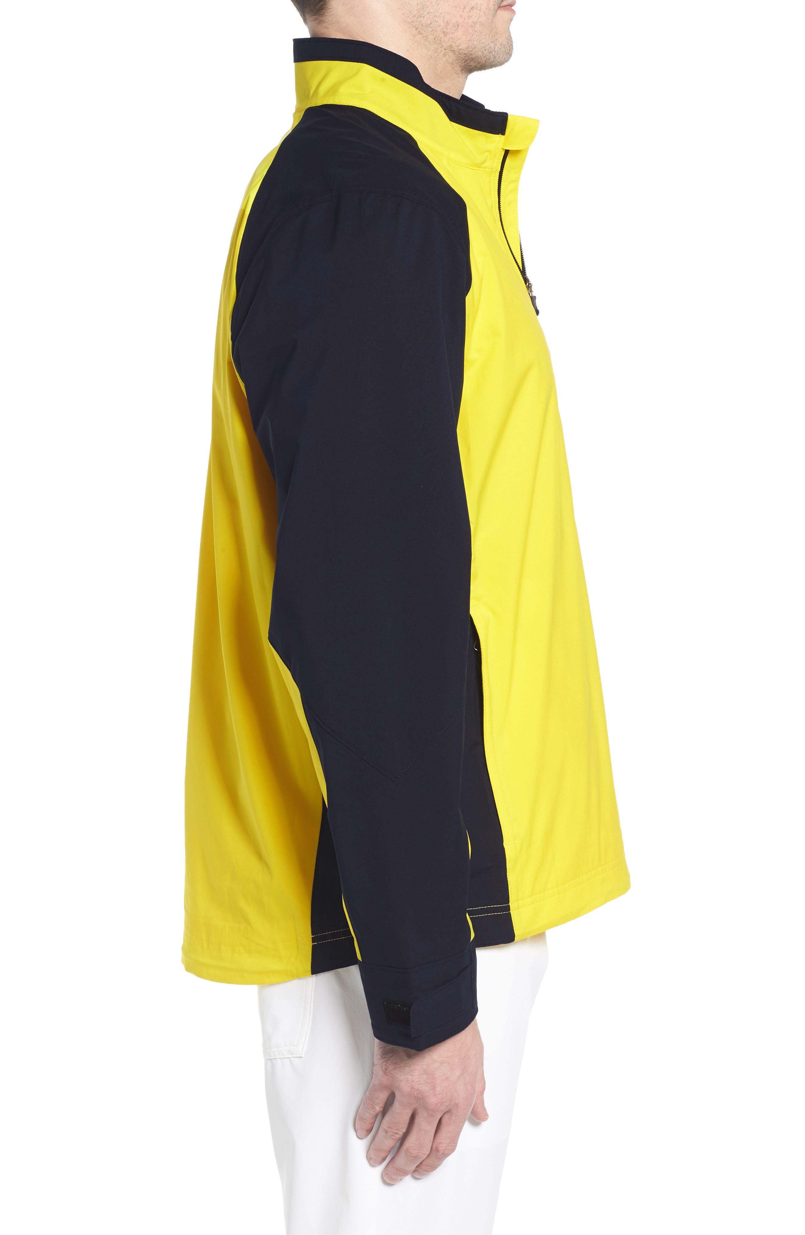 'Summit' WeatherTec Wind & Water Resistant Half Zip Jacket,                             Alternate thumbnail 3, color,                             GALAXY