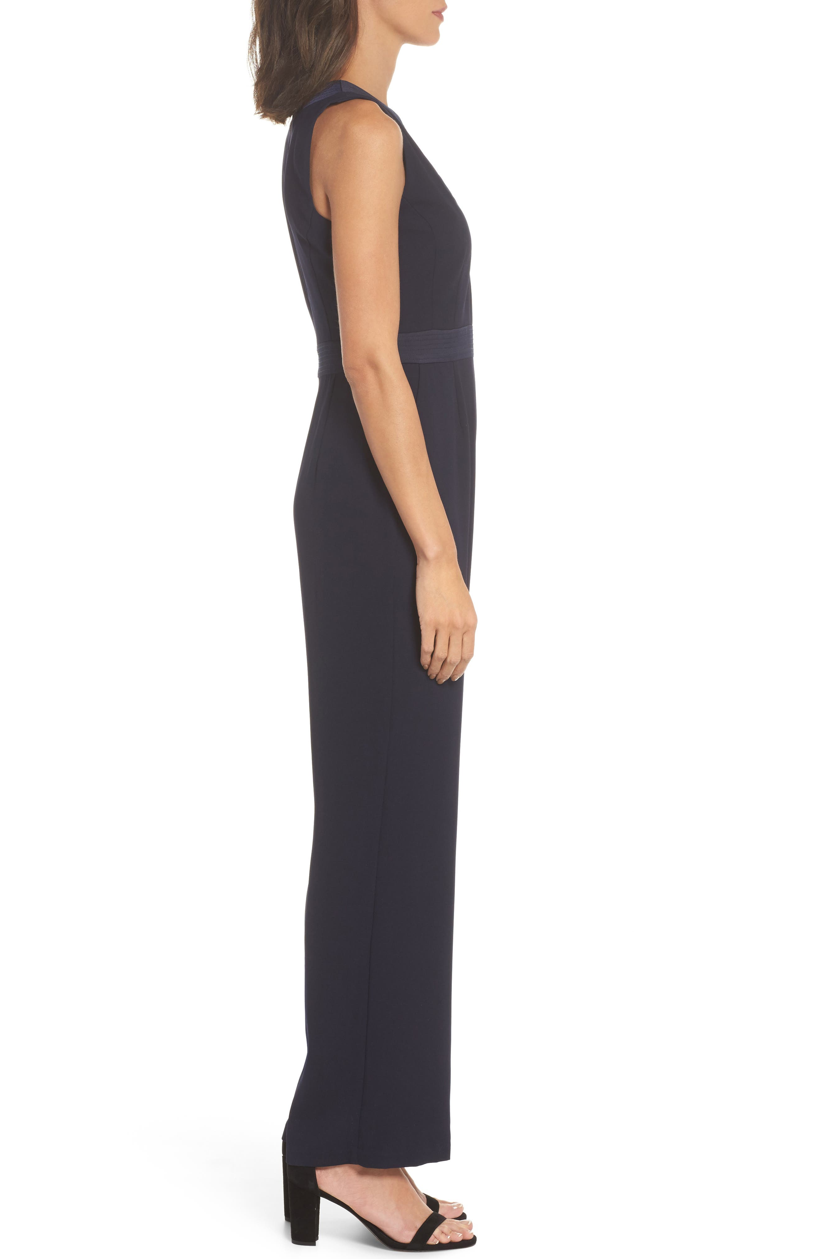 Sleeveless Jumpsuit,                             Alternate thumbnail 3, color,                             410