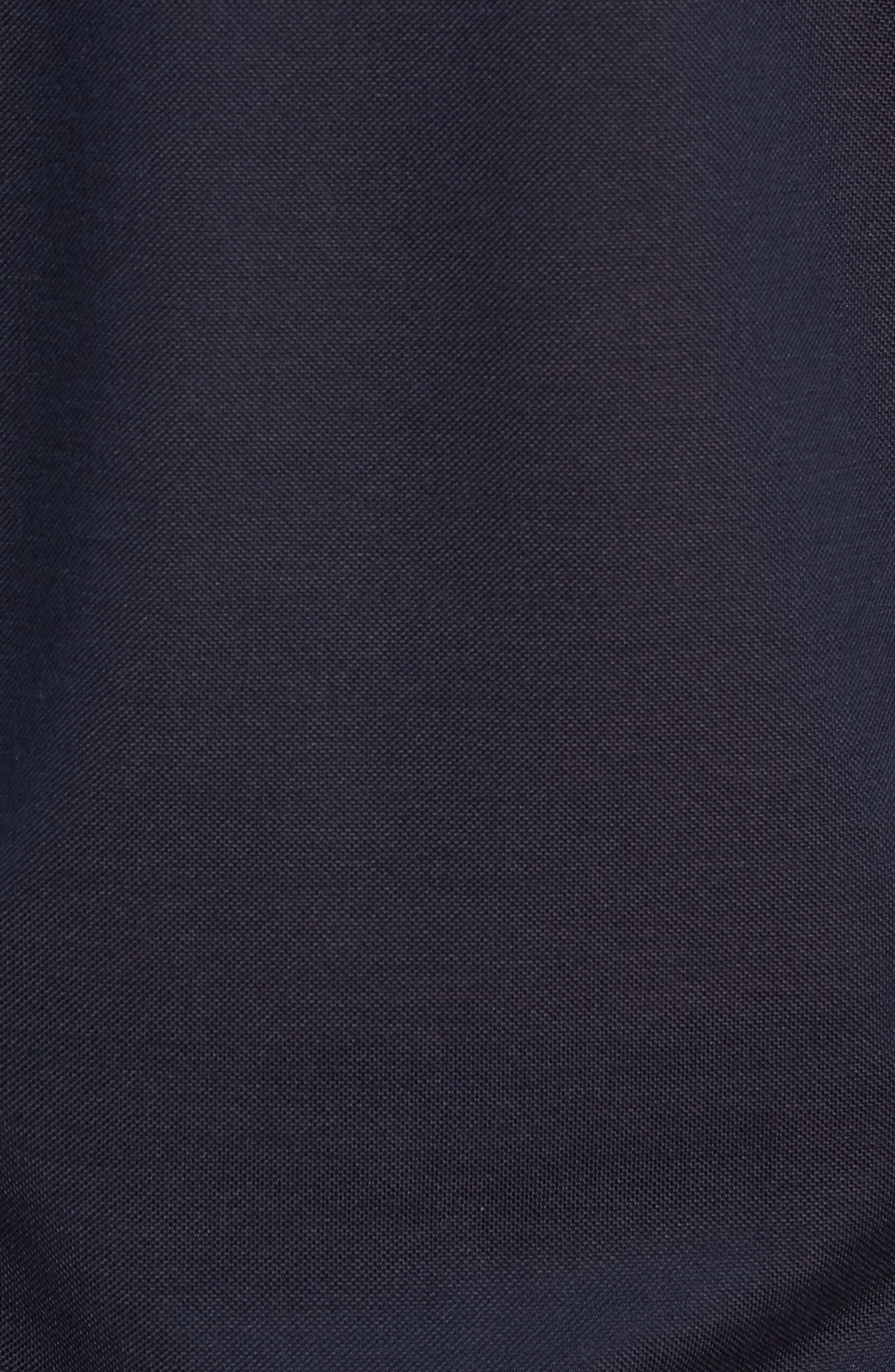 Avon Long Sleeve Silk & Cotton Polo,                             Alternate thumbnail 5, color,                             BARCHETTA