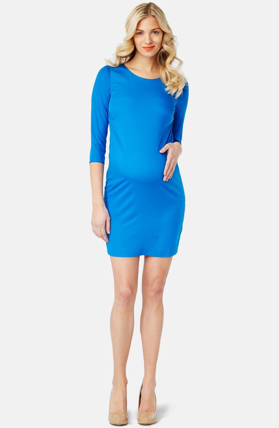 'Sloane' Maternity Dress,                             Main thumbnail 4, color,