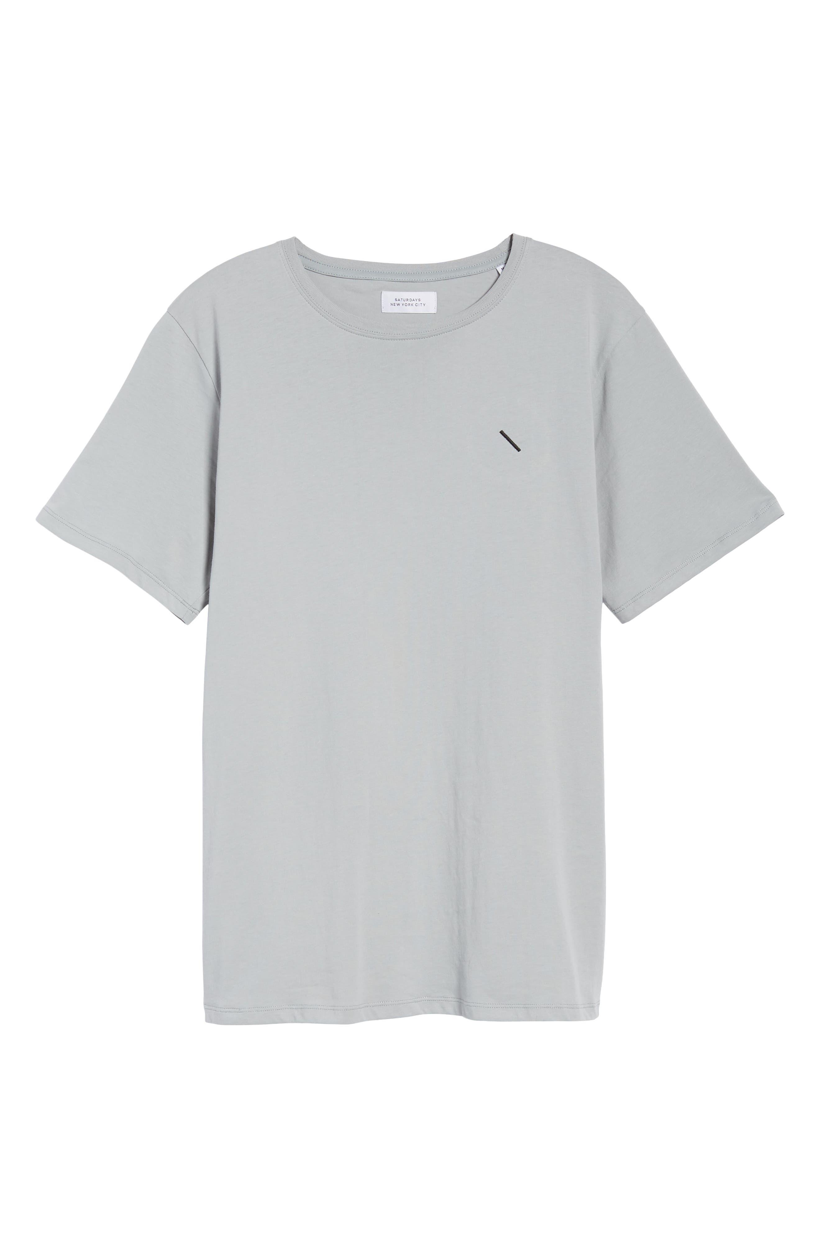 Embroidered Slash T-Shirt,                             Alternate thumbnail 11, color,