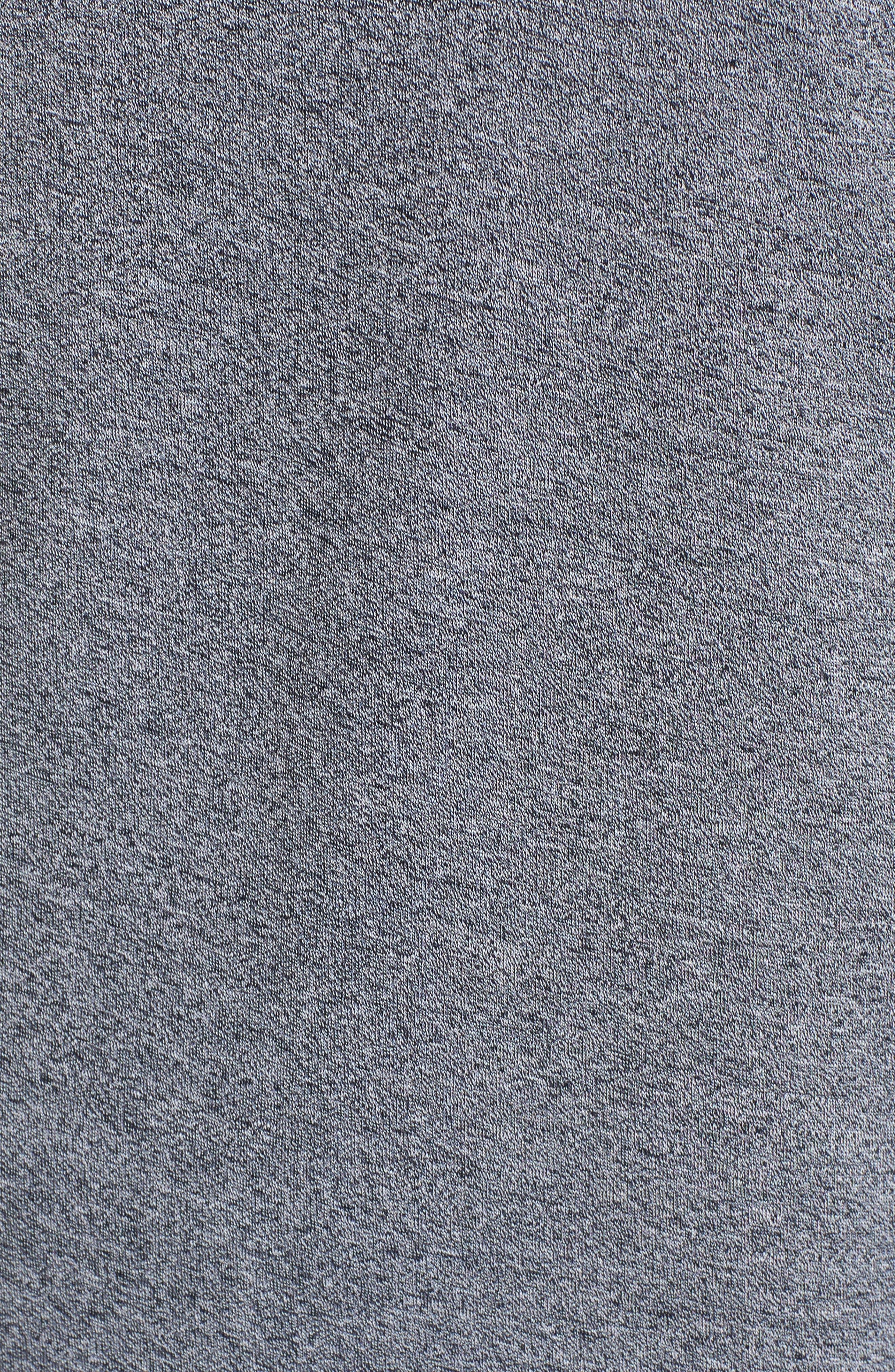 Paschal Mouline Slim Fit Polo Shirt,                             Alternate thumbnail 5, color,                             001