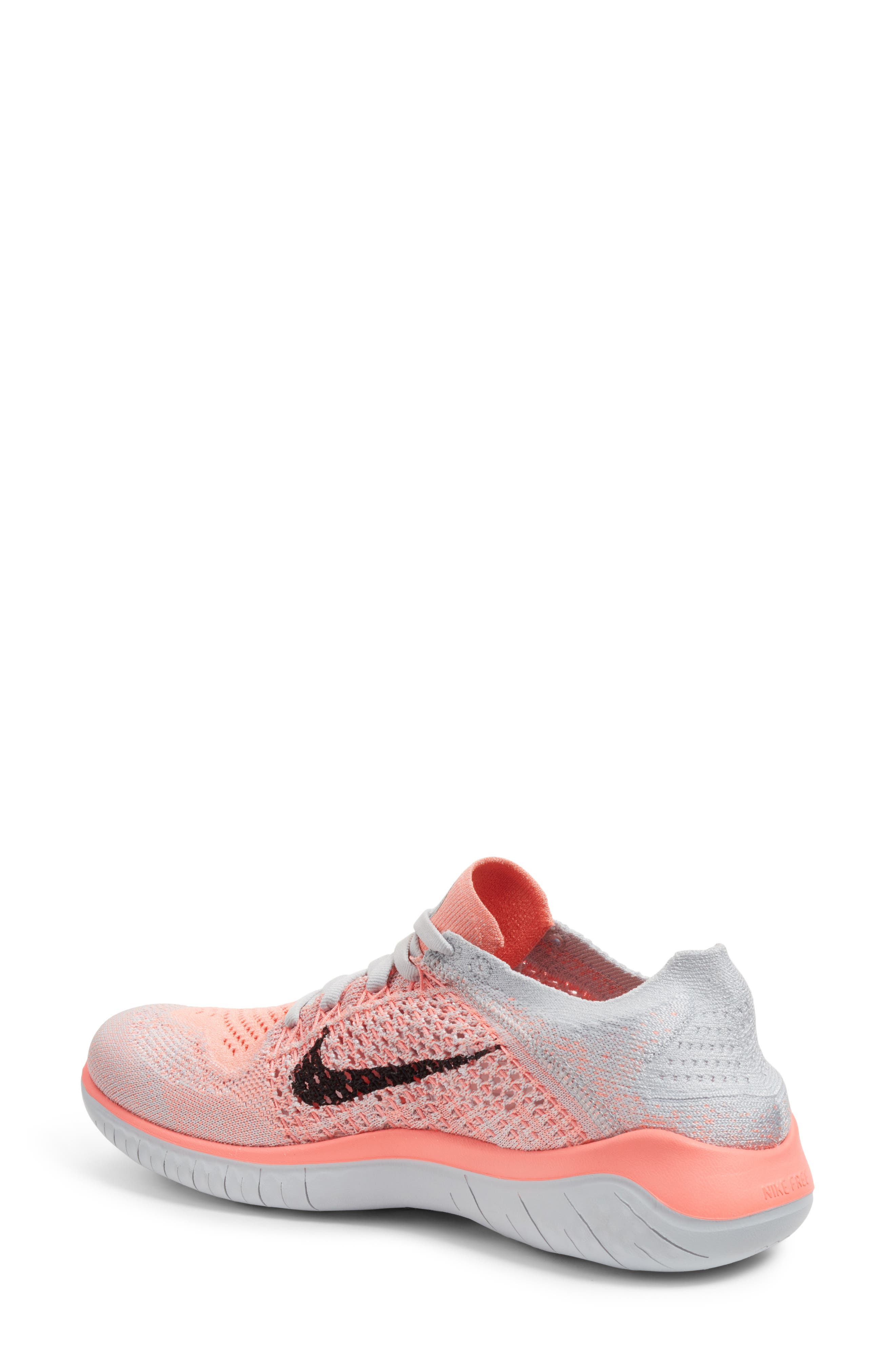 Free RN Flyknit 2018 Running Shoe,                             Alternate thumbnail 21, color,