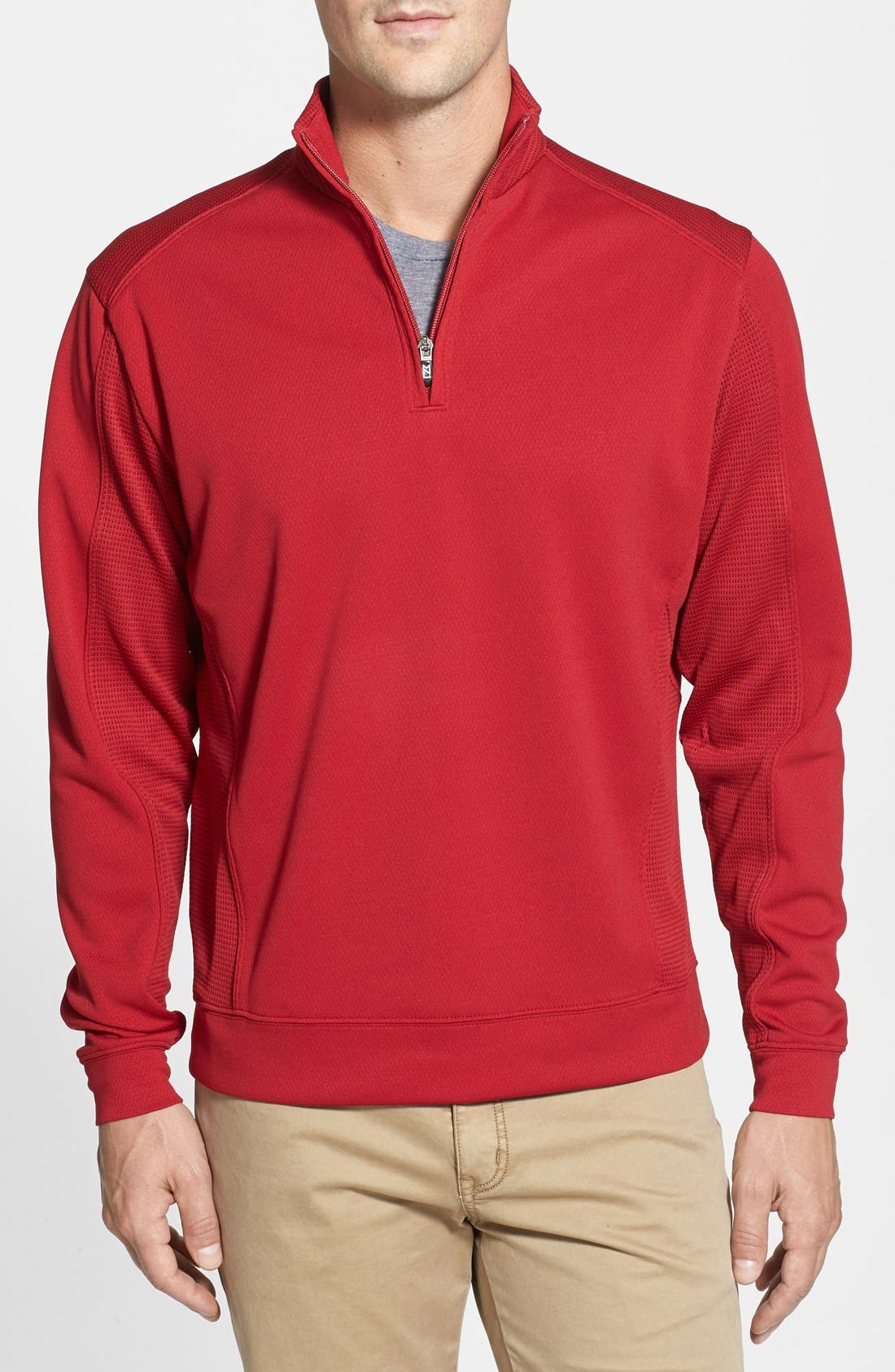 DryTec Half Zip Pullover,                             Main thumbnail 1, color,                             613
