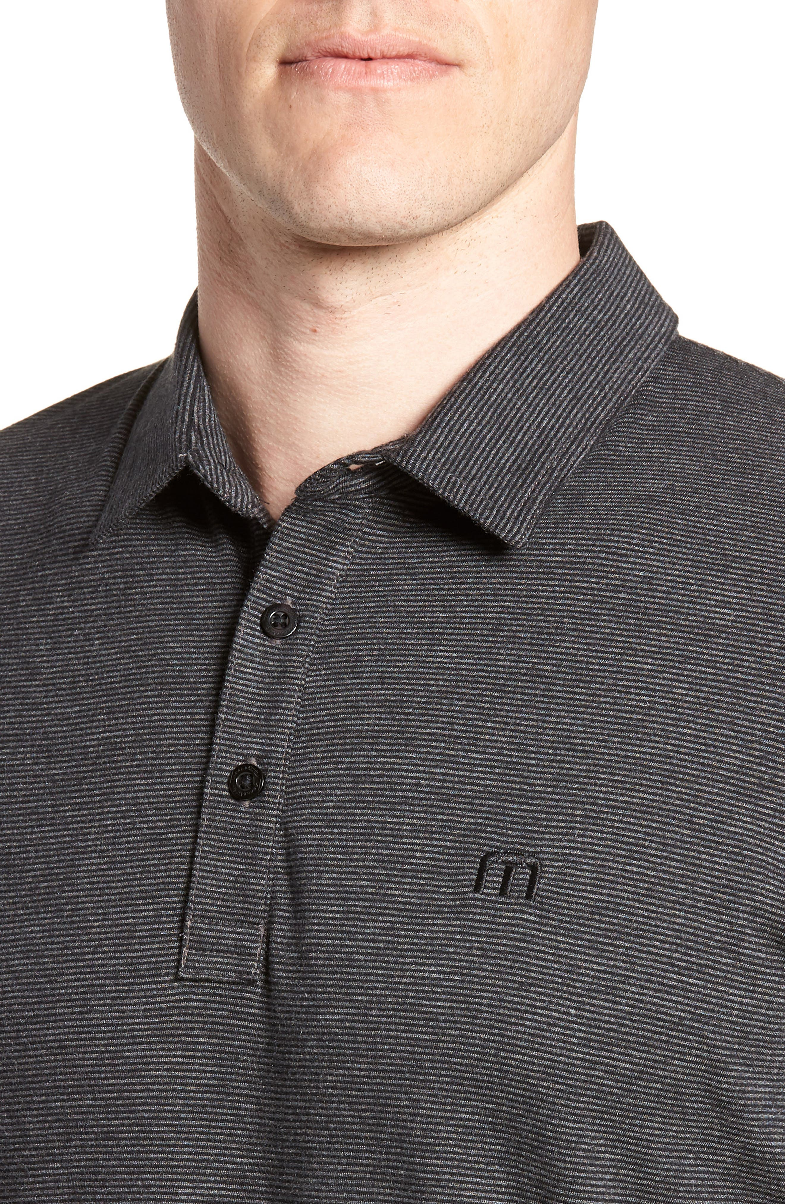 TRAVIS MATHEW,                             JQ Regular Fit Stripe Polo,                             Alternate thumbnail 4, color,                             020