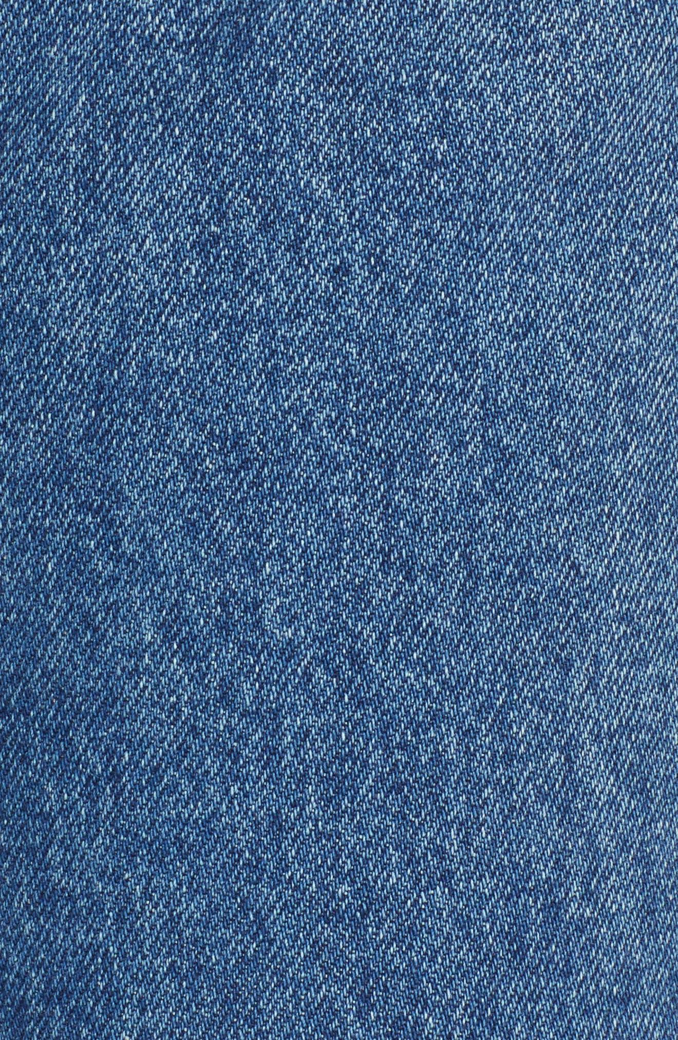GRLFRND,                             Karolina Ripped High Waist Skinny Jeans,                             Alternate thumbnail 6, color,                             I PUT A SPELL ON YOU
