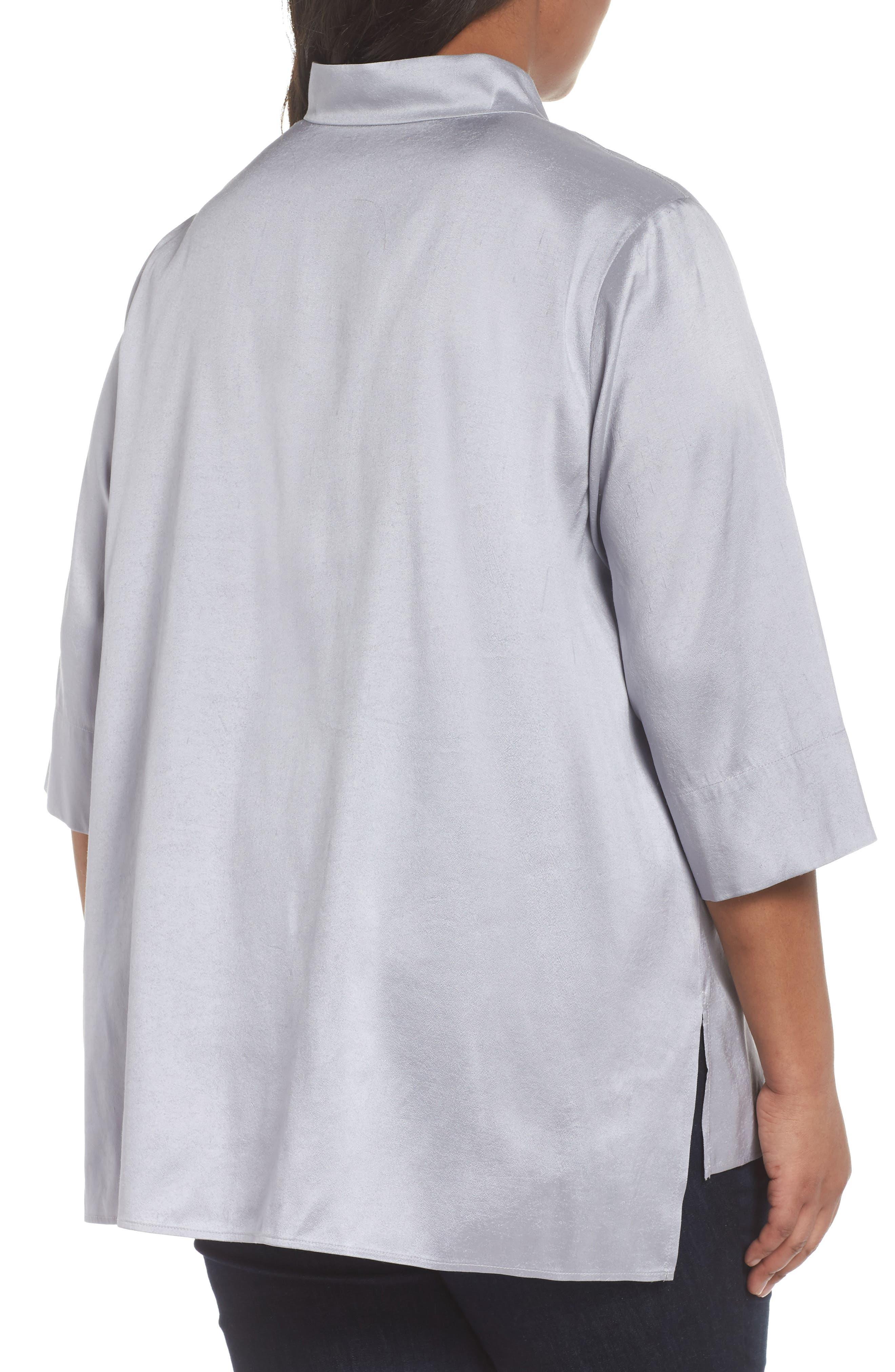 Notch Collar Shirt,                             Alternate thumbnail 3, color,