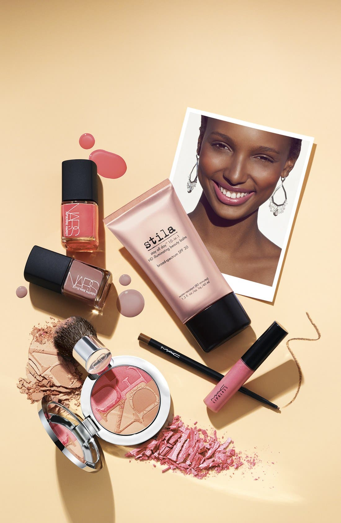 'stay all day' 10-in-1 HD illuminating beauty balm broad spectrum spf 30,                             Alternate thumbnail 2, color,                             NO COLOR