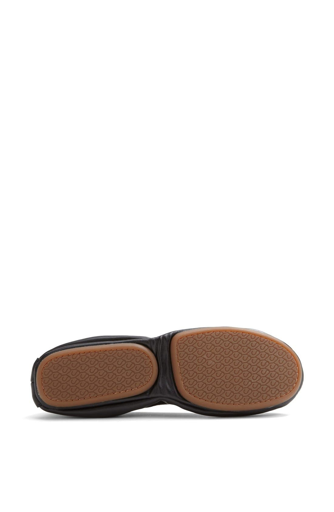 Foldable Ballet Flat,                             Alternate thumbnail 4, color,                             001