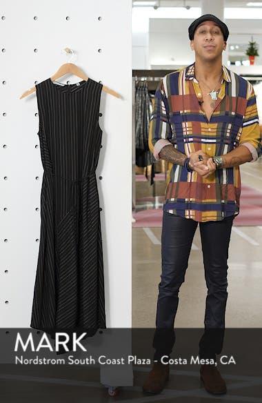 Bar Stripe Paneled Dress, sales video thumbnail