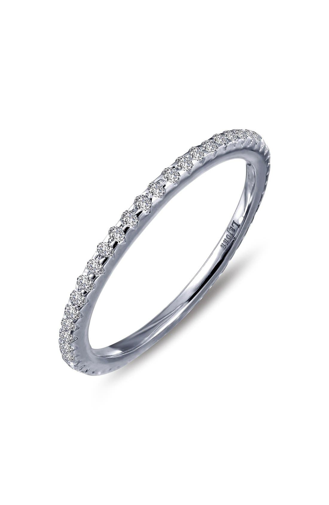 Classic Eternity Band,                             Main thumbnail 1, color,                             SILVER
