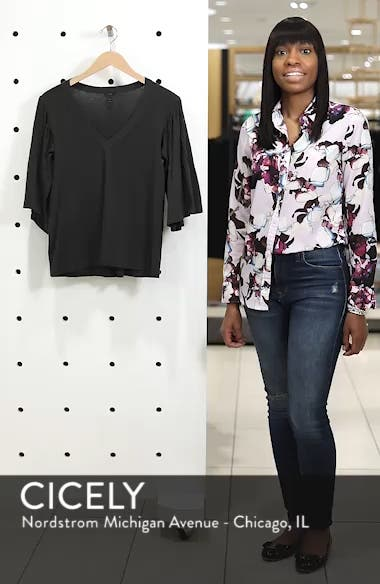 Pintuck Sleeve Cotton Blouse, sales video thumbnail