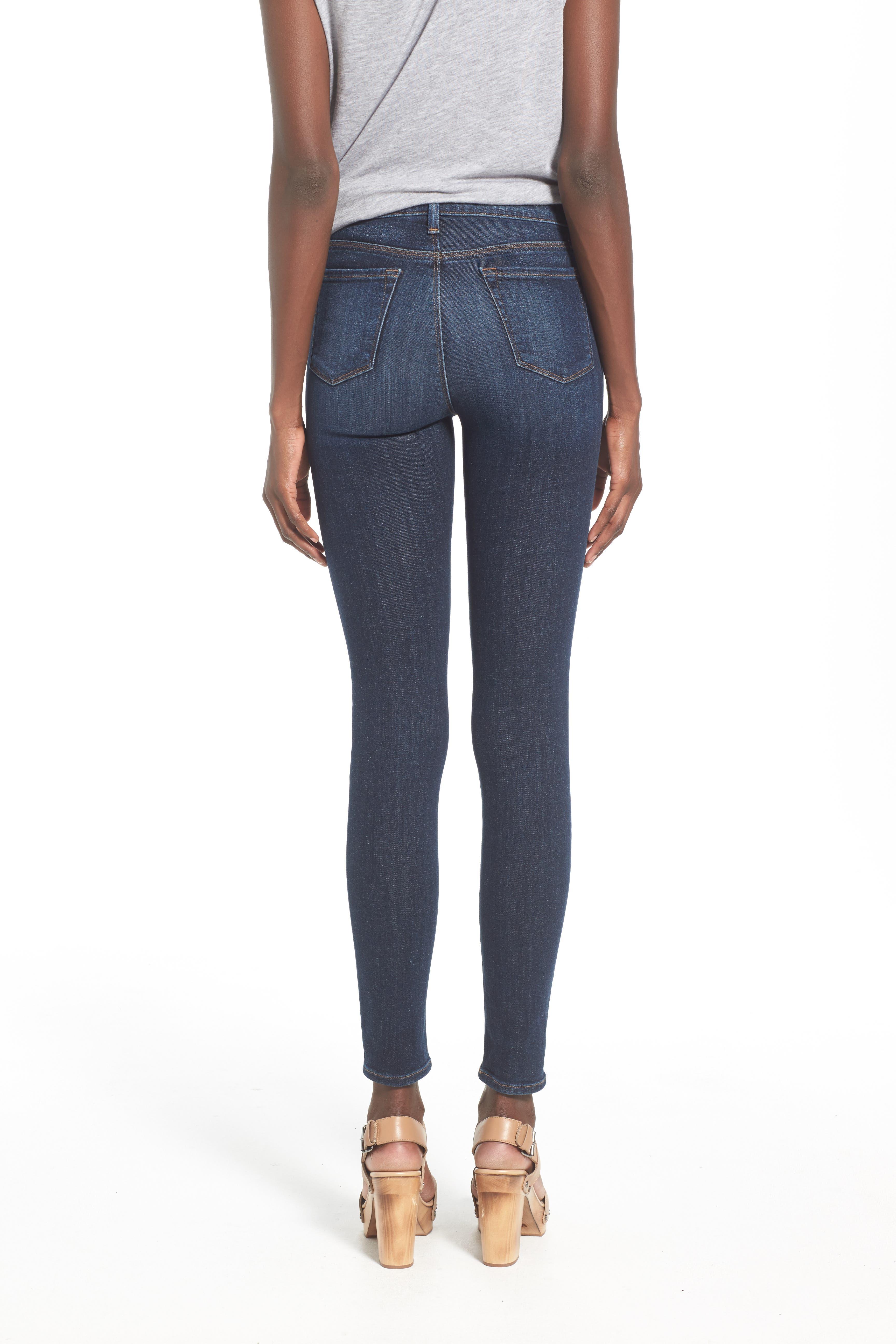 'Maria' Skinny Jeans,                             Alternate thumbnail 4, color,                             407