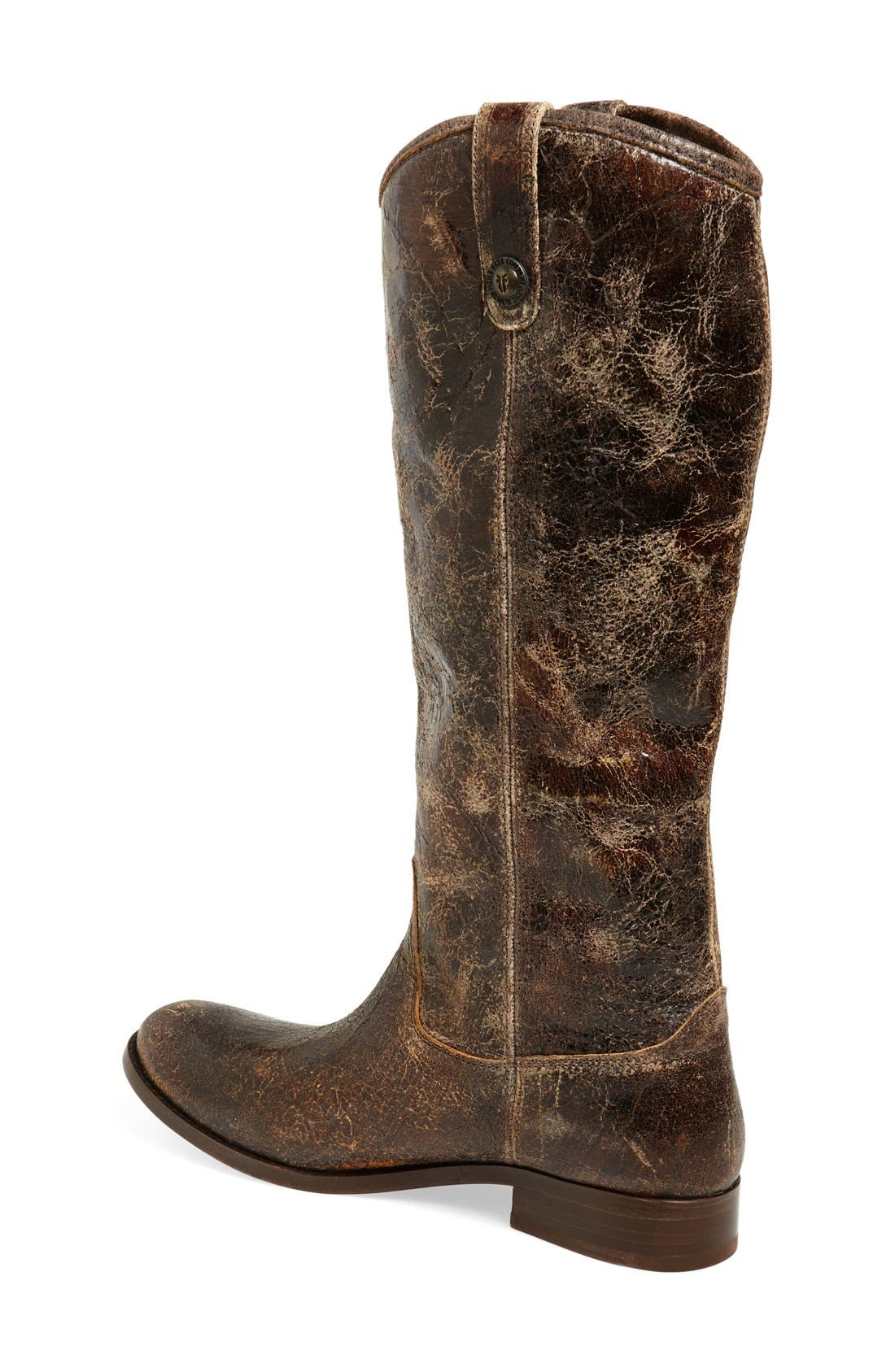 'Melissa Button' Leather Riding Boot,                             Alternate thumbnail 49, color,