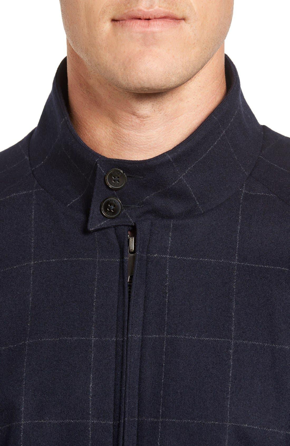 Wool G9 Harrington Jacket,                             Alternate thumbnail 5, color,                             462