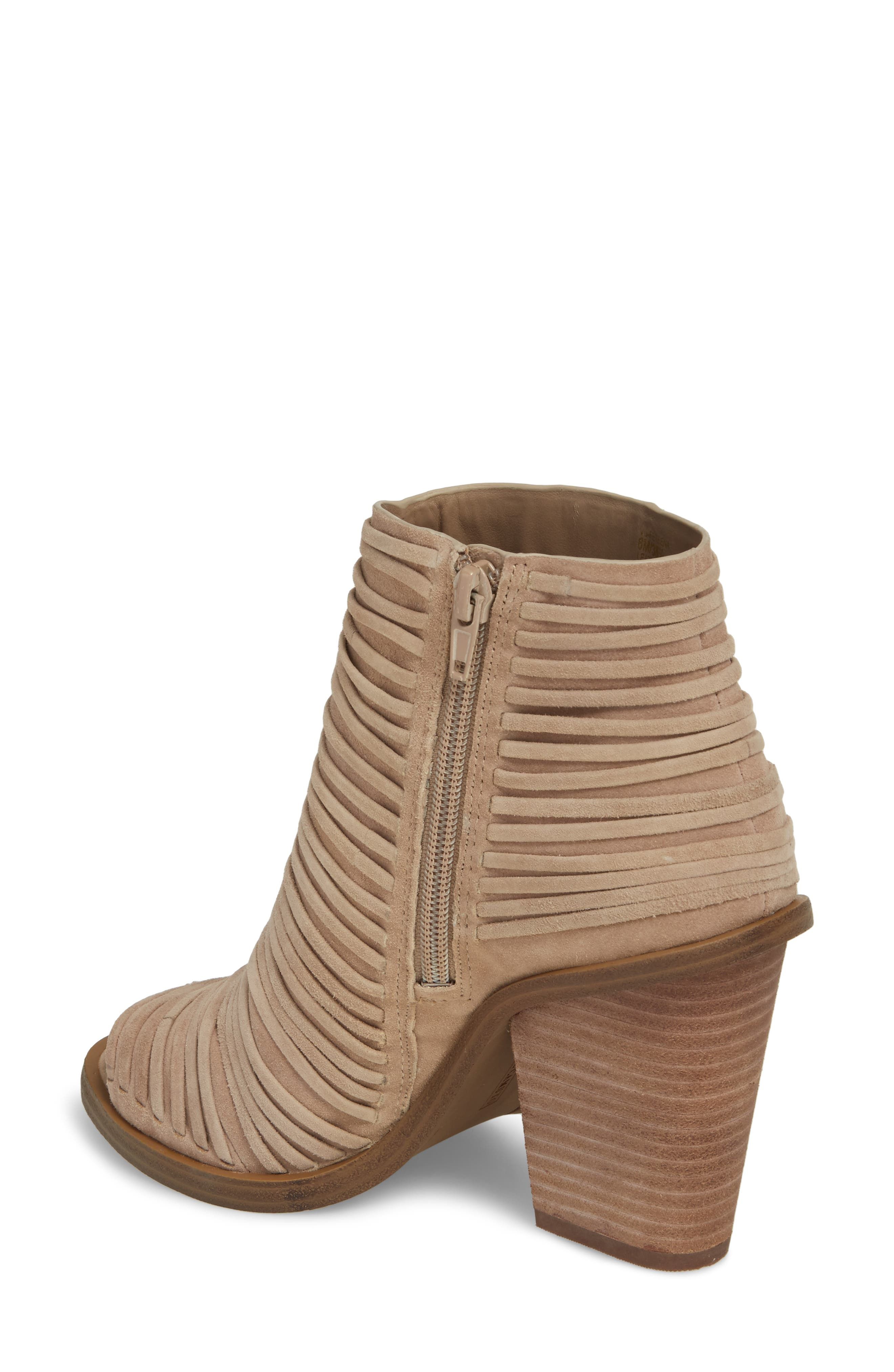 Feteena Bootie,                             Alternate thumbnail 2, color,                             FRENCH TAUPE SUEDE