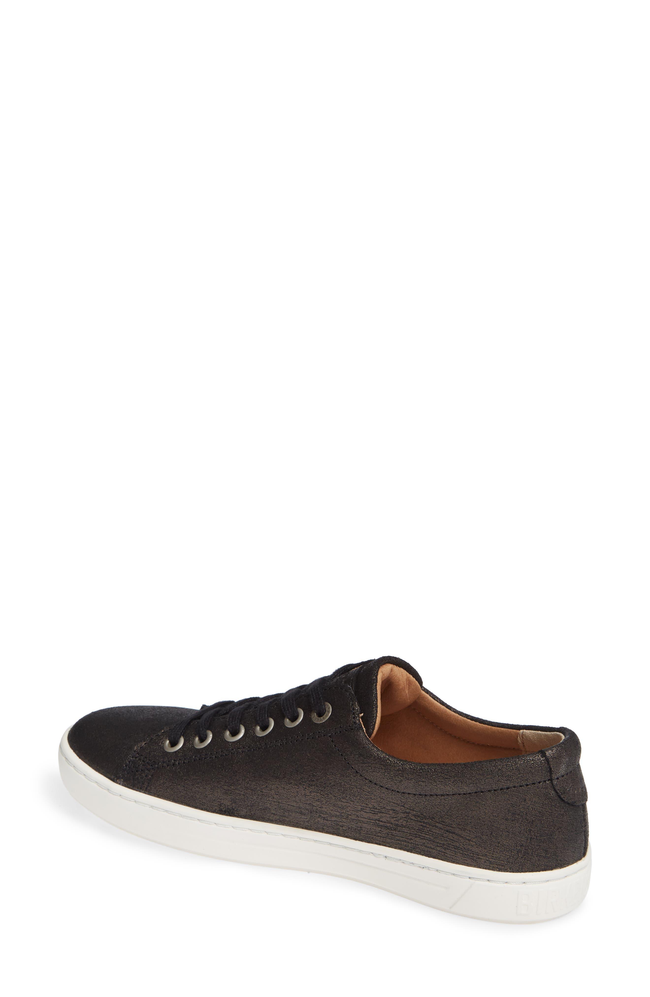 Arran Sneaker,                             Alternate thumbnail 2, color,                             METALLIC BLACK