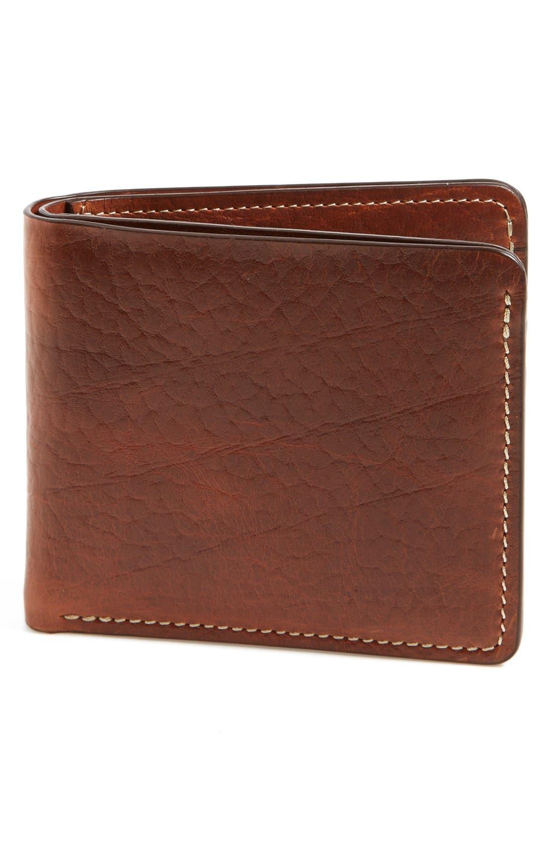 'Jackson' Bison Leather Wallet,                             Main thumbnail 1, color,                             700