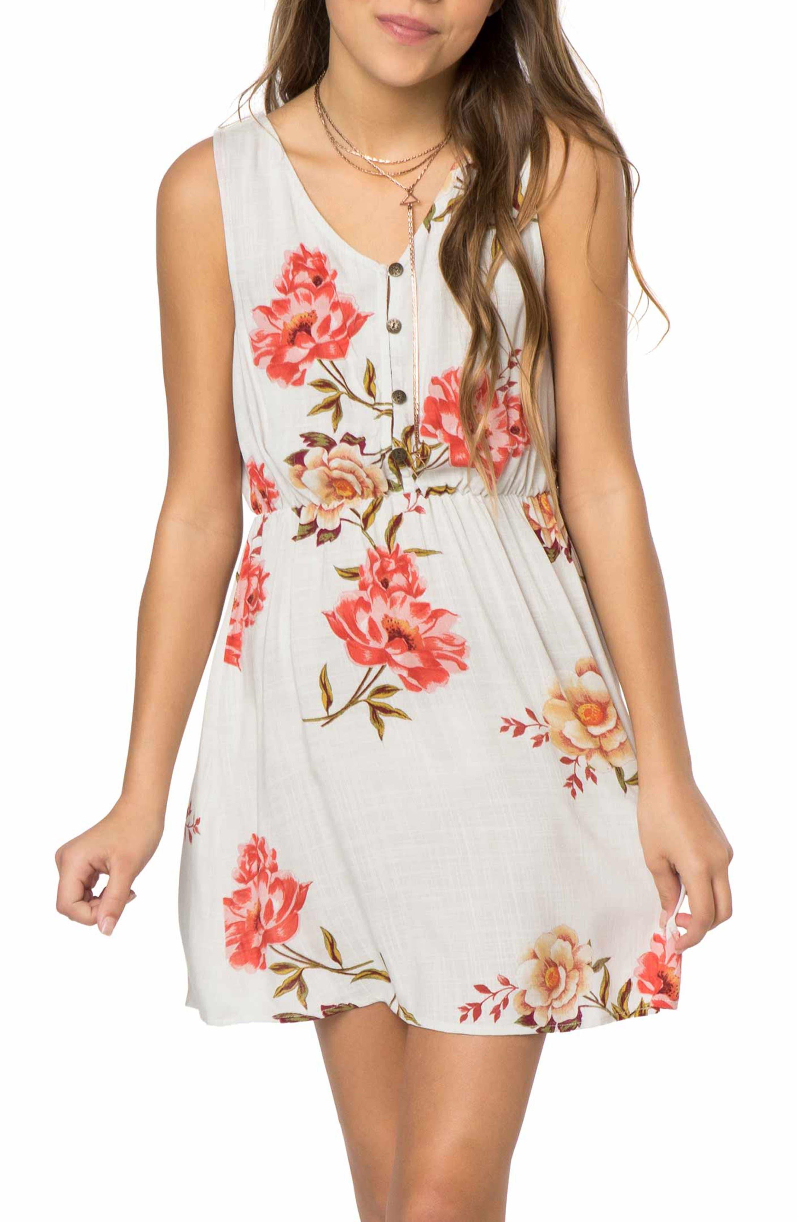 Caden Woven Tank Dress,                         Main,                         color,