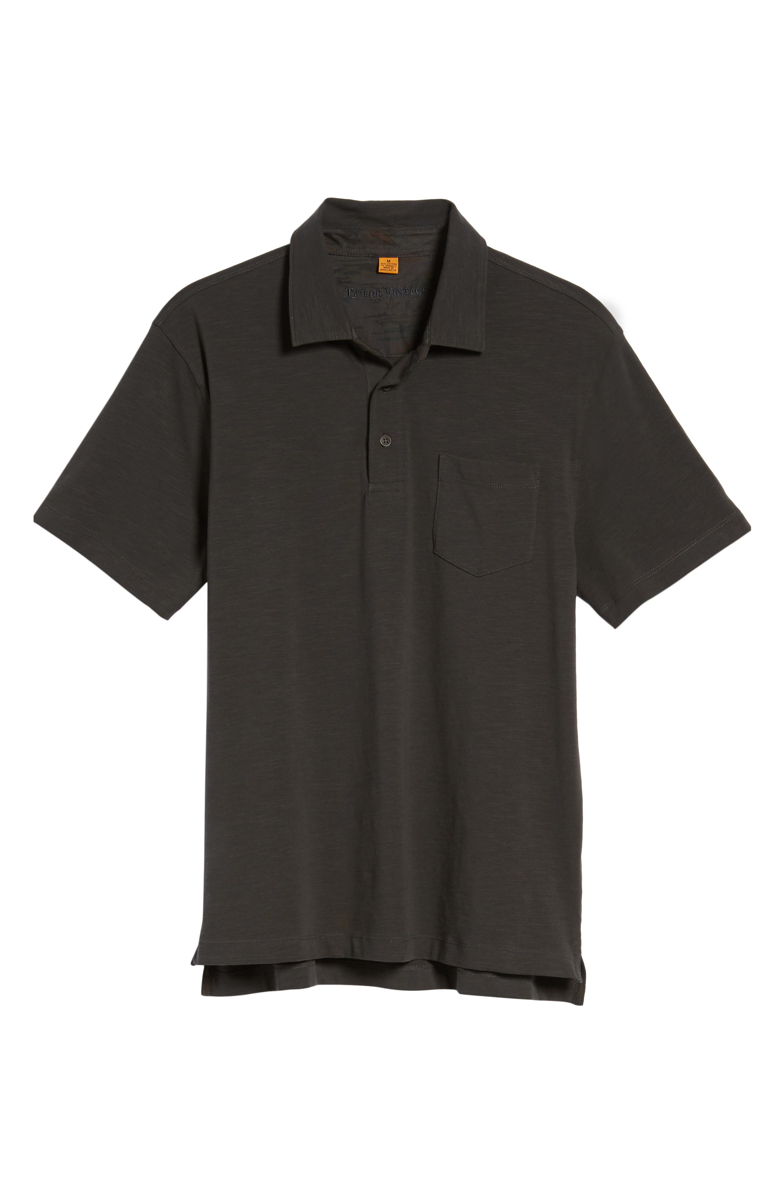 Stretch Slub Jersey Polo,                             Alternate thumbnail 16, color,