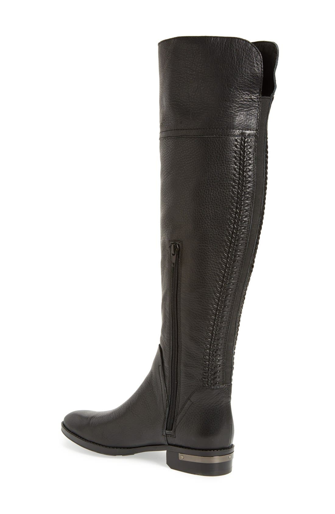 'Pedra' Over the Knee Boot,                             Alternate thumbnail 2, color,                             001