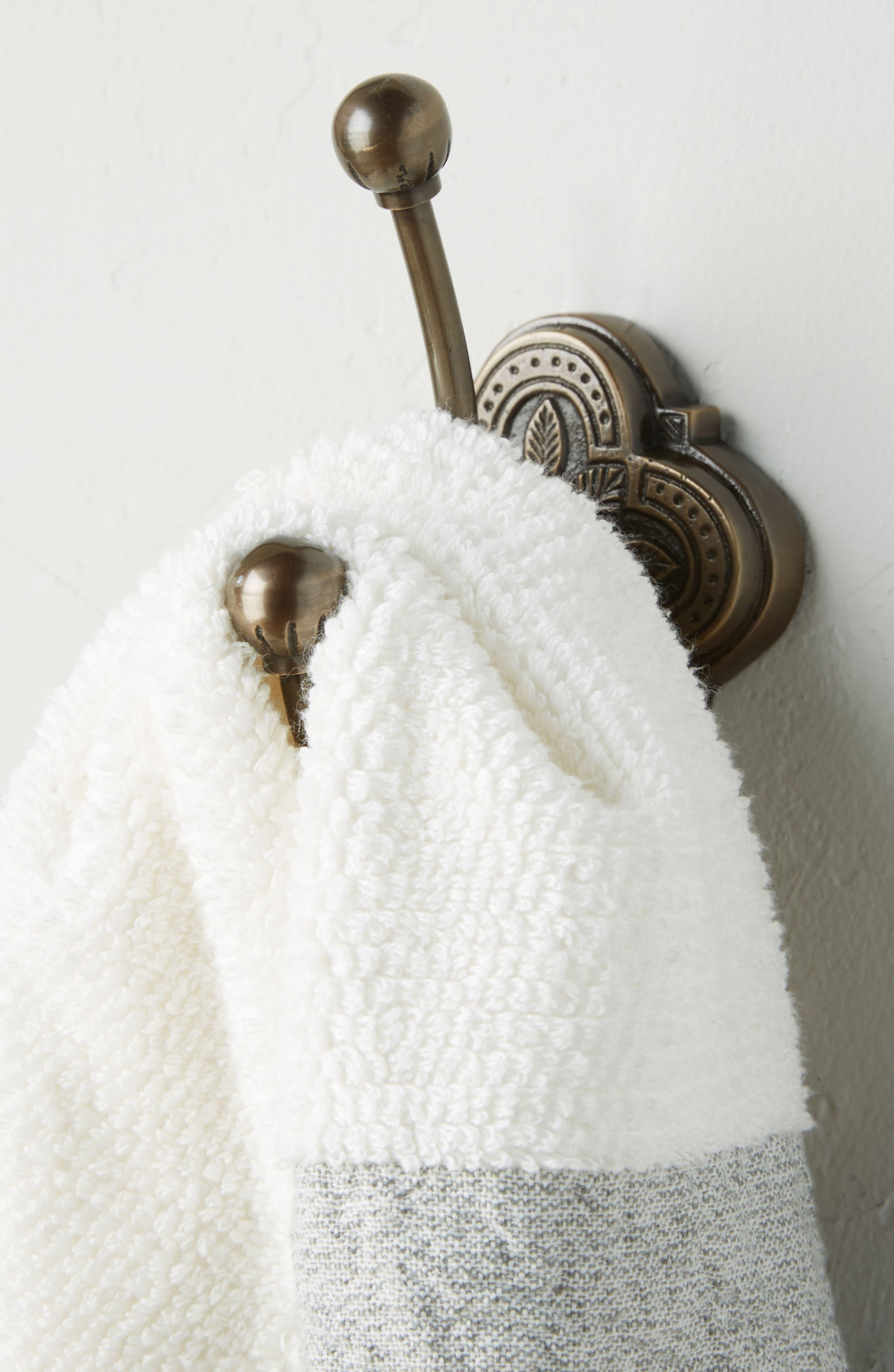Ferriday Towel Hook,                             Alternate thumbnail 3, color,                             BROWN