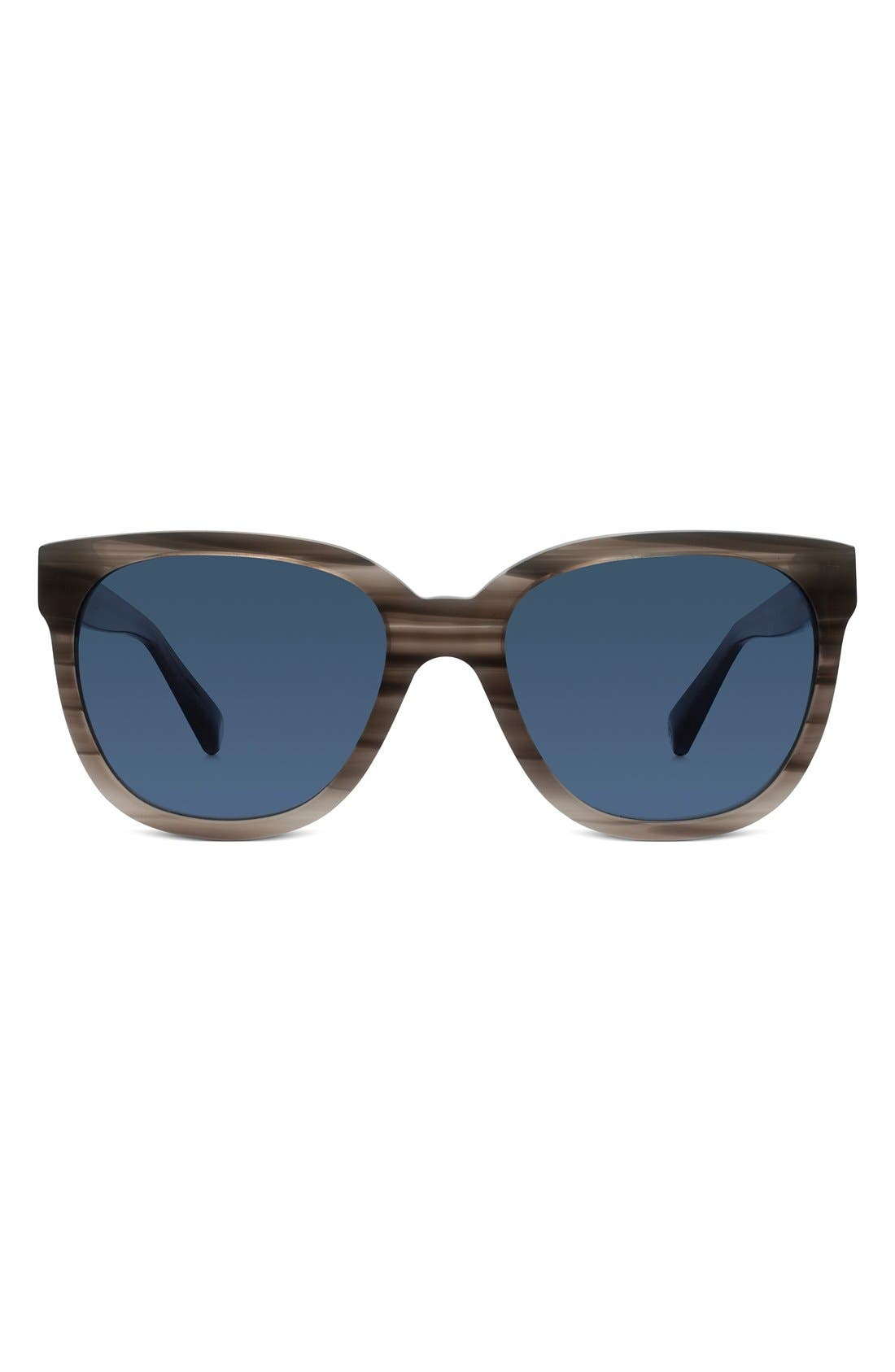 WARBY PARKER,                             'Reilly' 55mm Polarized Sunglasses,                             Main thumbnail 1, color,                             060