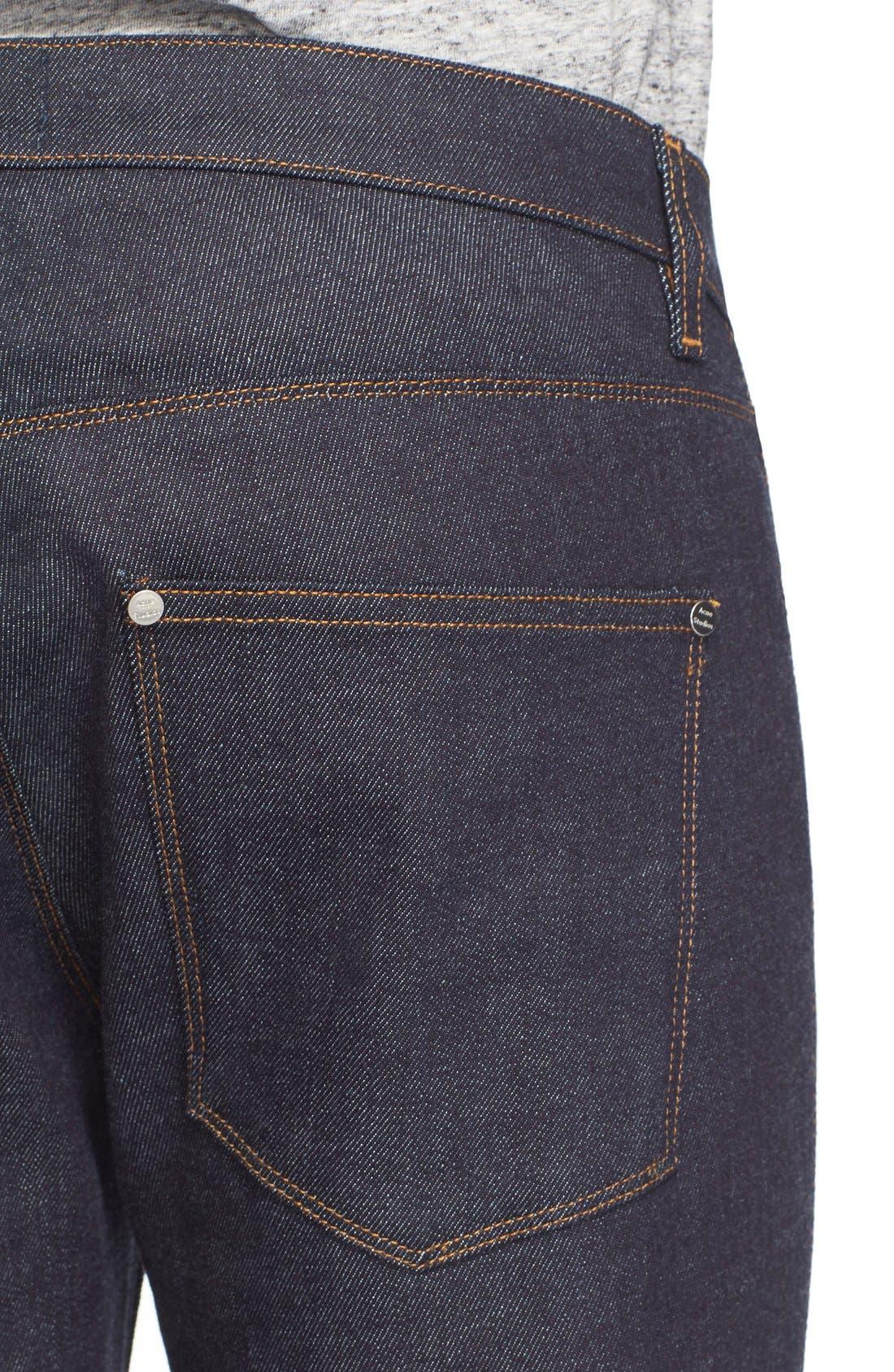 Max Slim Straight Leg Jeans,                             Alternate thumbnail 4, color,
