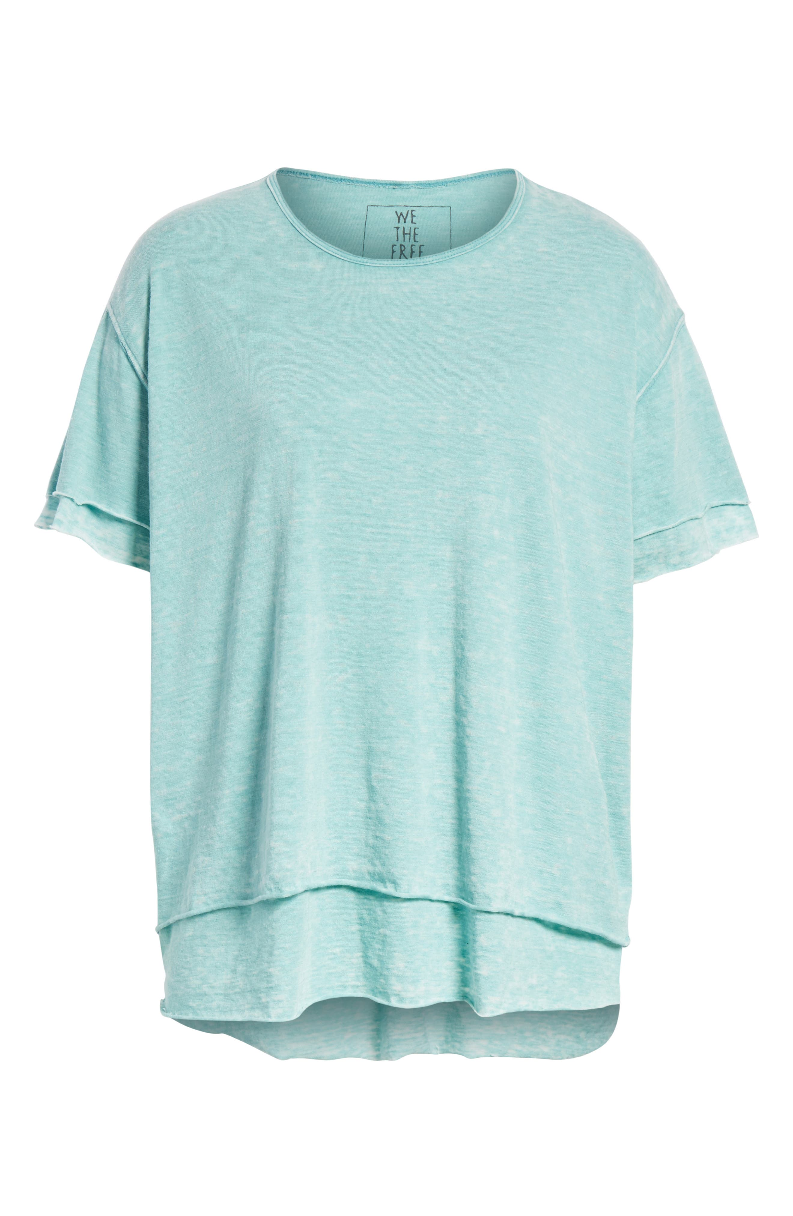 We the Free by Free People Cloud Nine Tee,                             Alternate thumbnail 34, color,