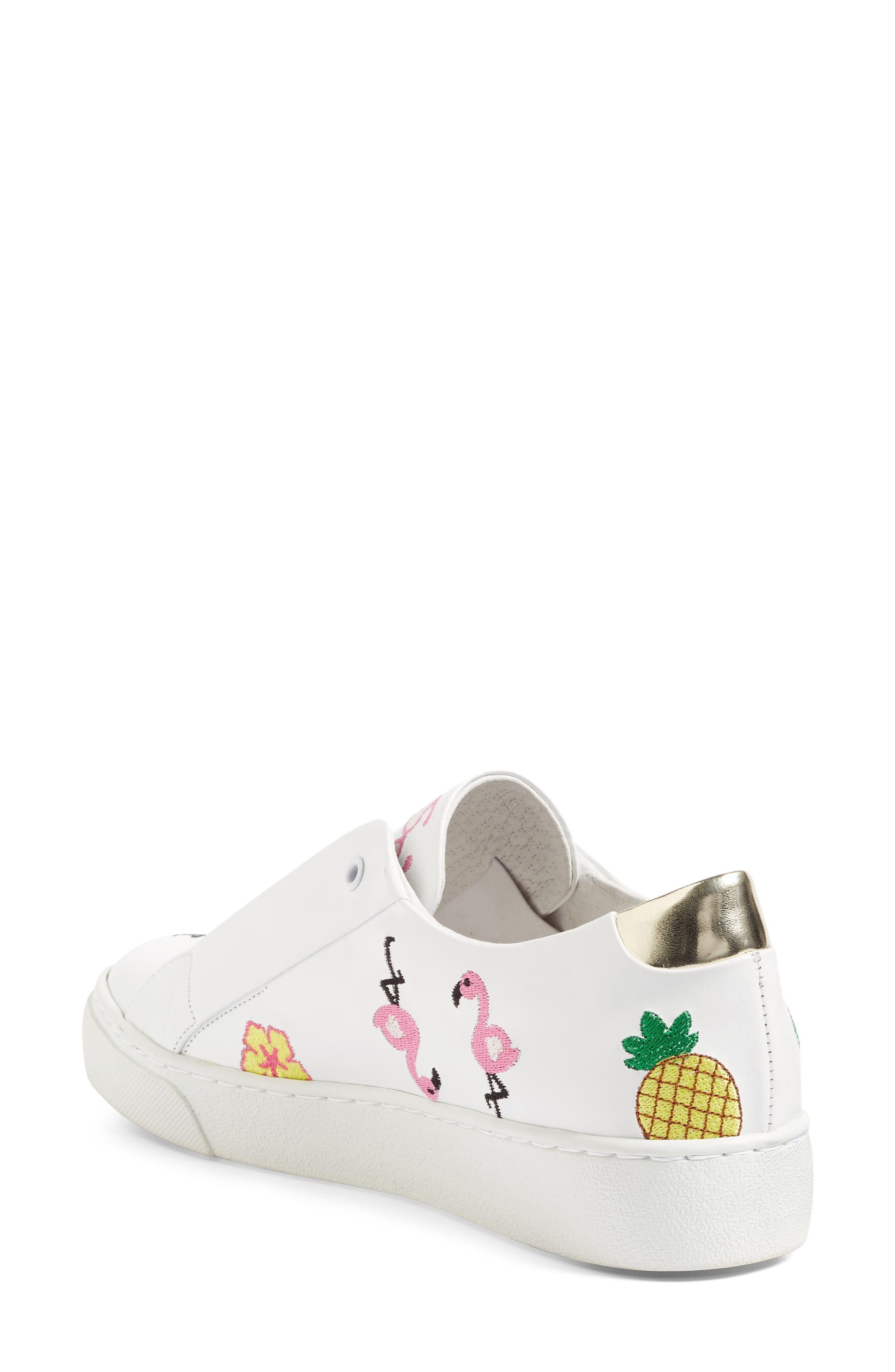 Kamea Slip-On Sneaker,                             Alternate thumbnail 3, color,                             100