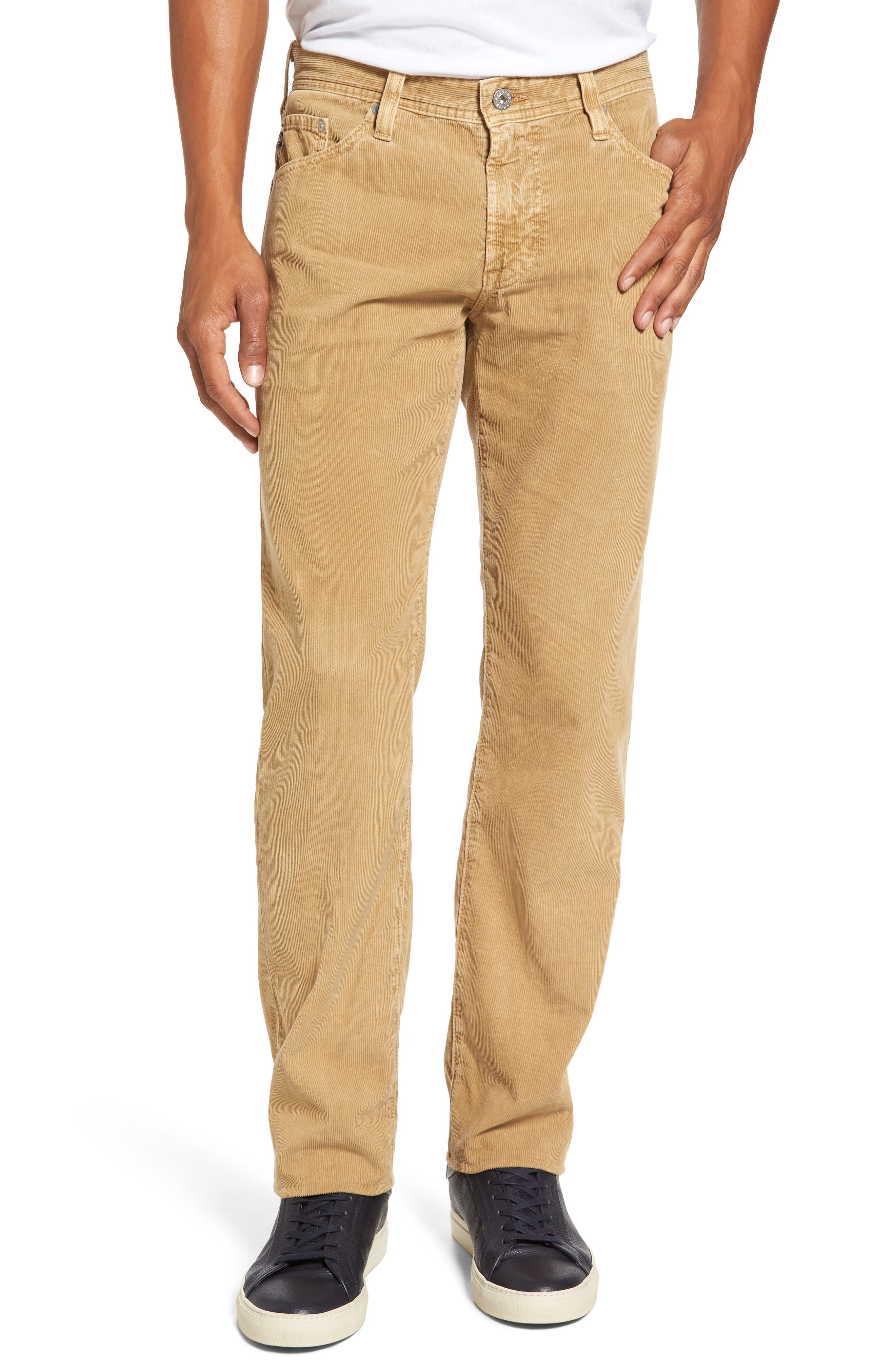 'Graduate' Tailored Straight Leg Corduroy Pants,                             Main thumbnail 2, color,