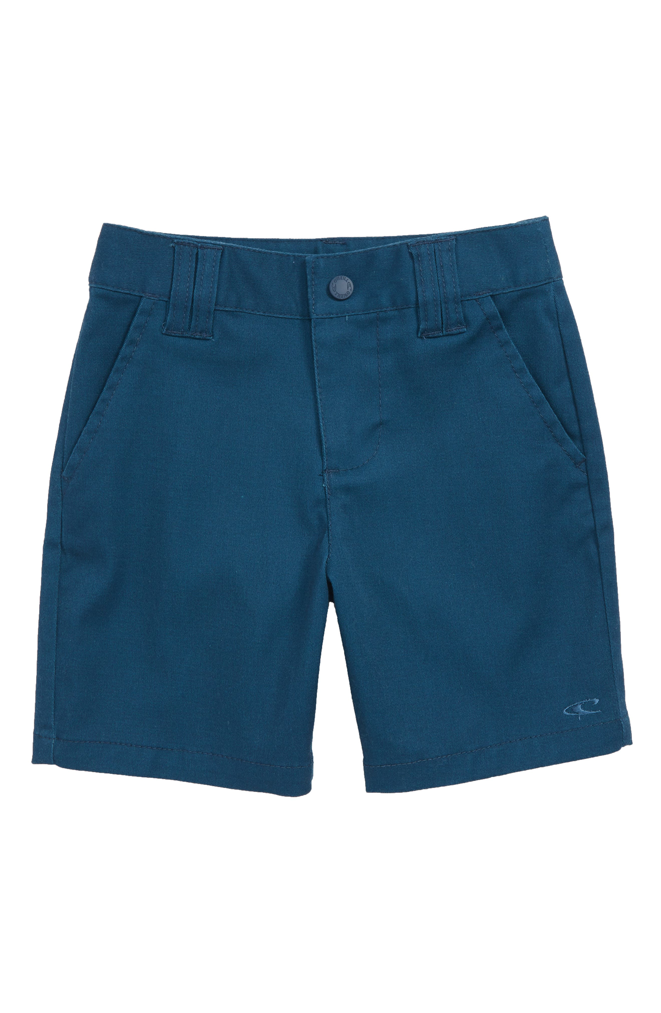 Contact Stretch Shorts,                         Main,                         color, DARK BLUE