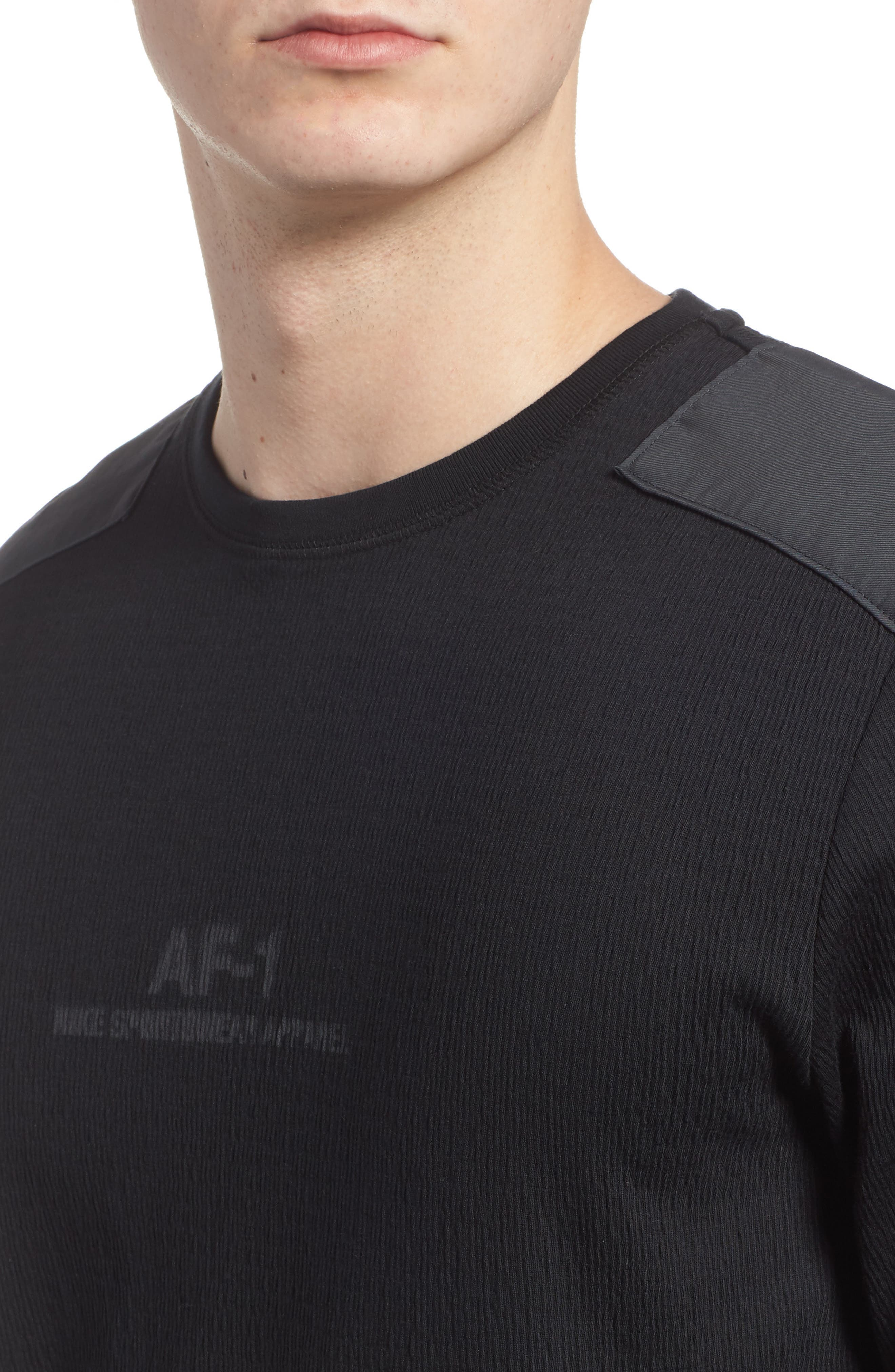 Sportswear AF-1 Long Sleeve Shirt,                             Alternate thumbnail 4, color,                             010