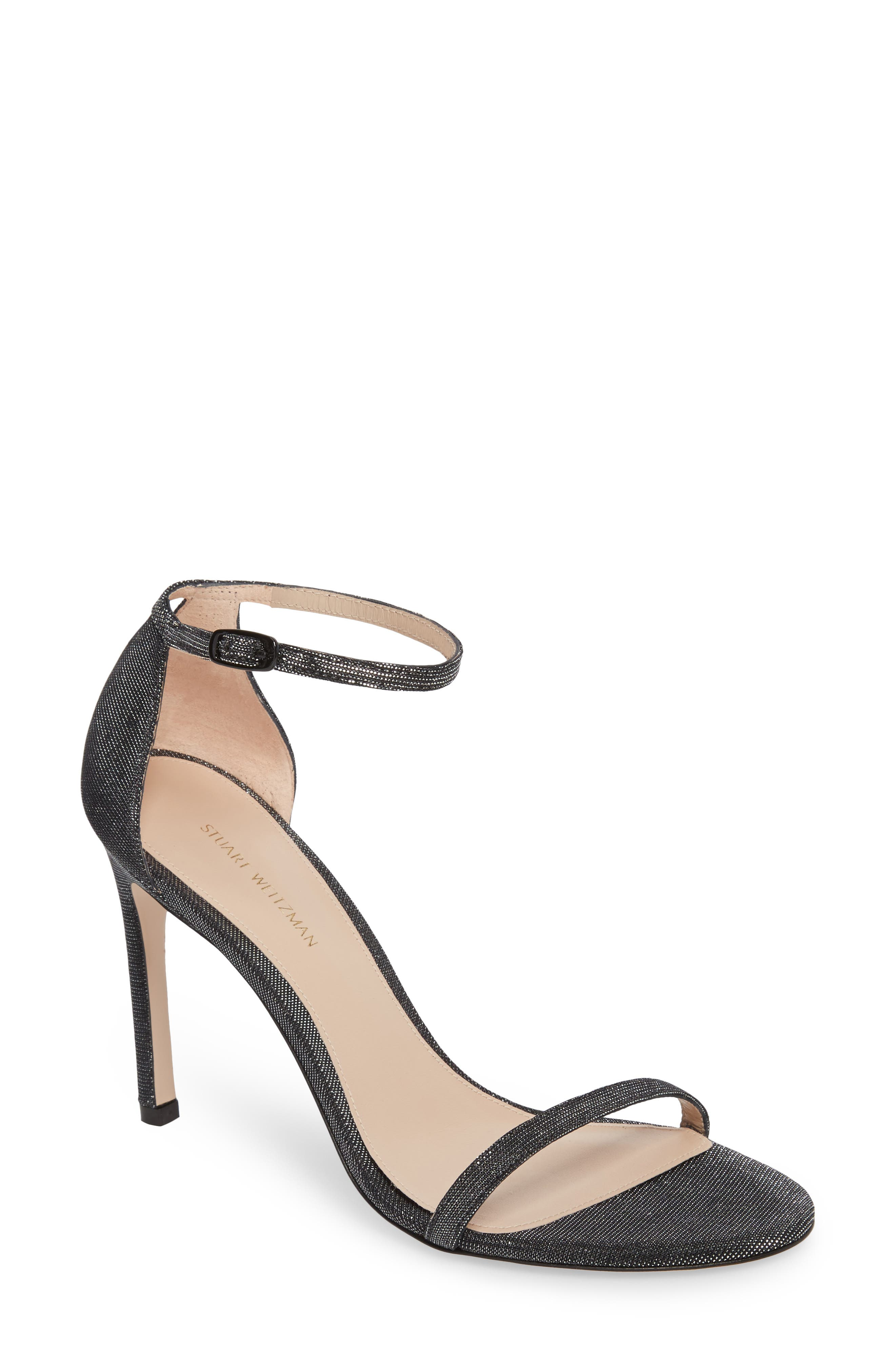 Nudistsong Ankle Strap Sandal,                             Main thumbnail 3, color,