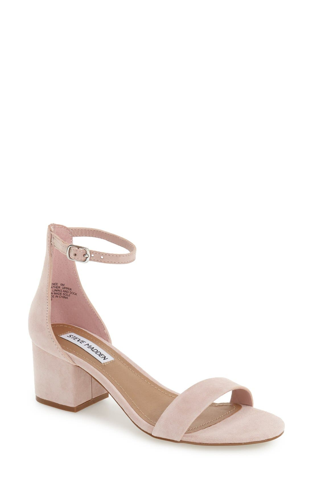 Irenee Ankle Strap Sandal,                             Main thumbnail 26, color,