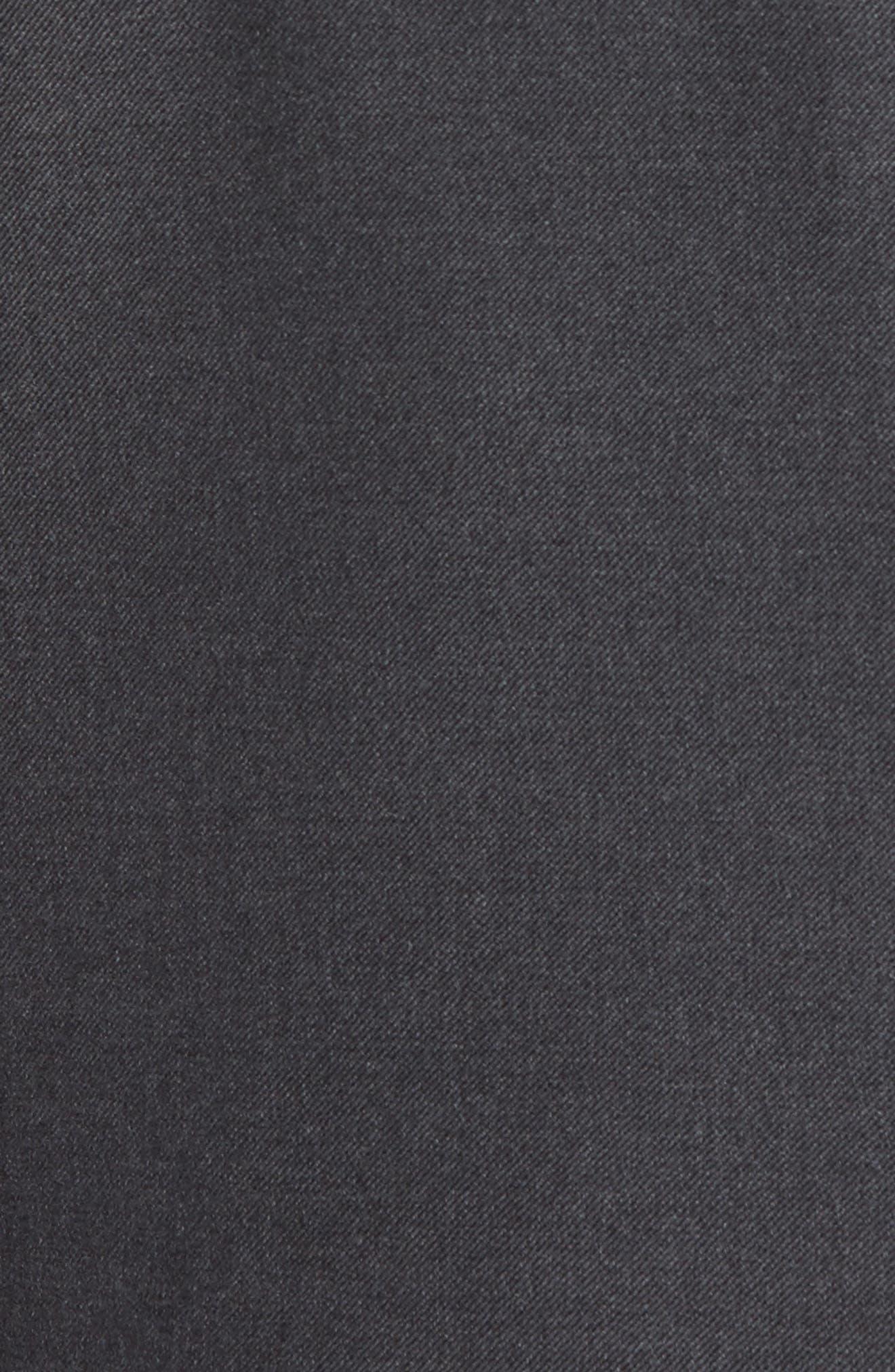 Classic B Fit Loro Piana Wool Suit,                             Alternate thumbnail 7, color,                             GREY