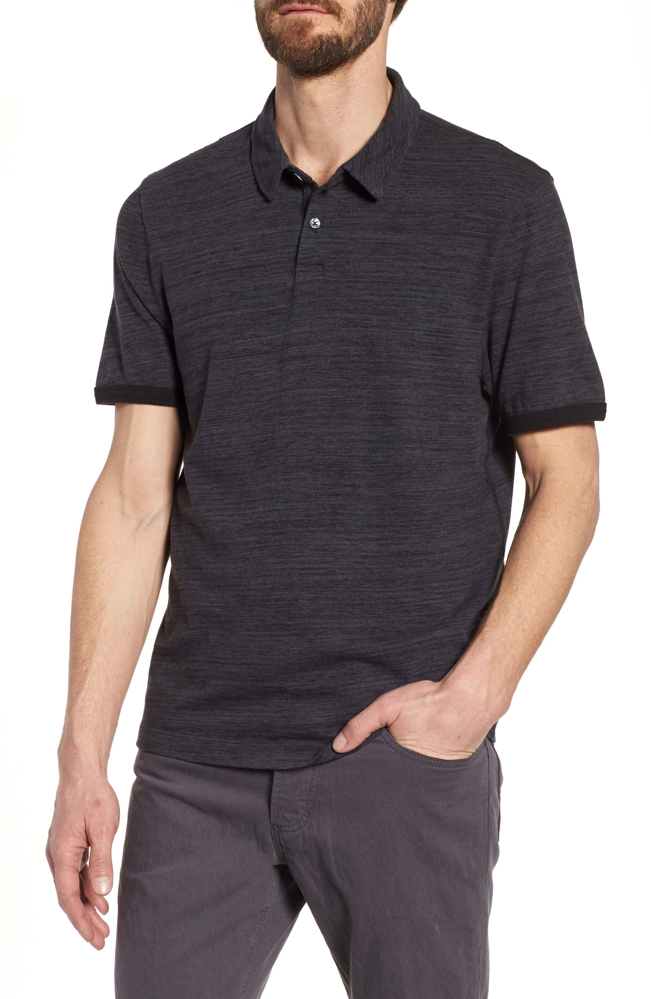 Regular Fit Top Dyed Polo,                             Main thumbnail 1, color,