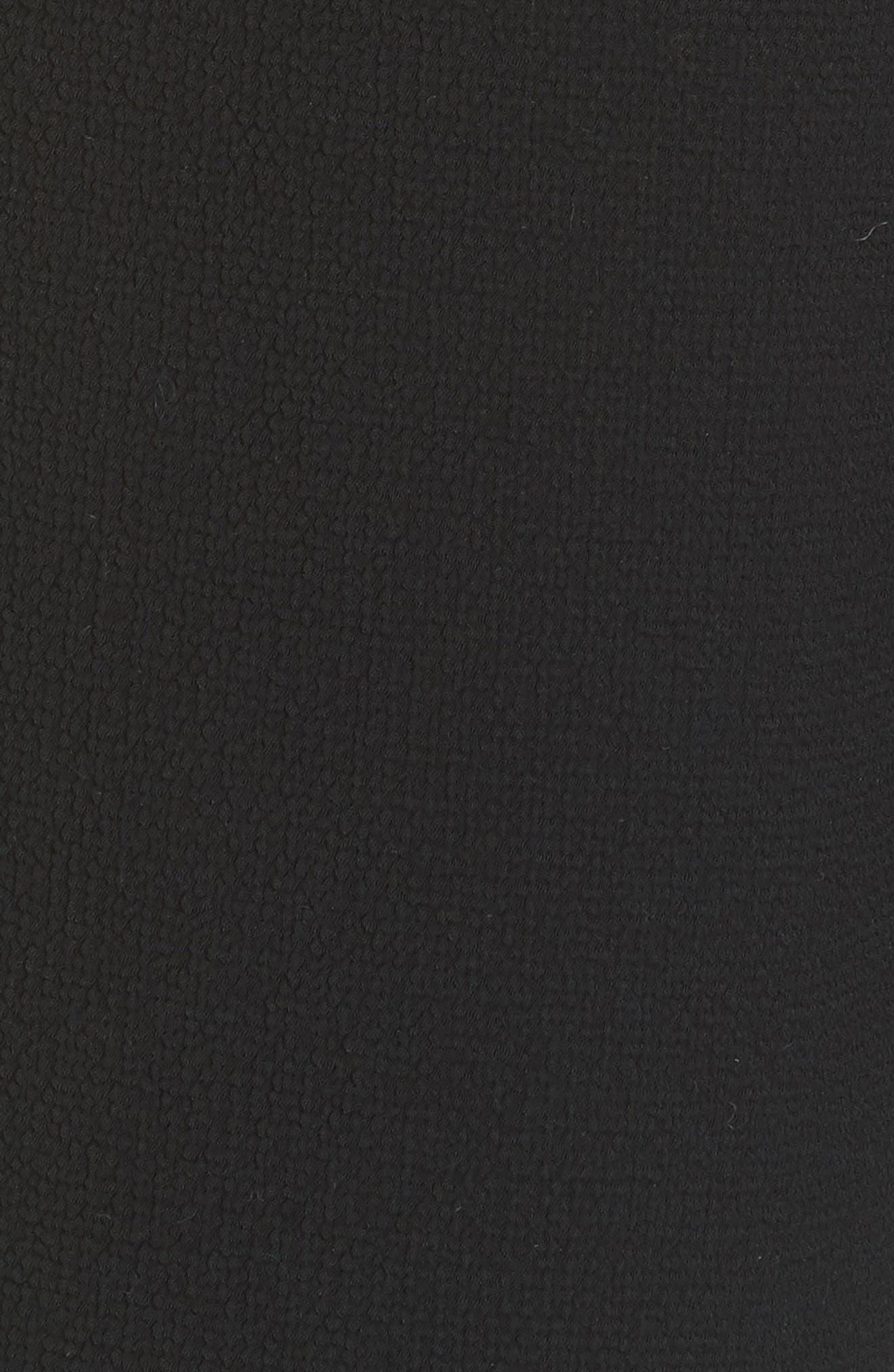 Bridges Side Stripe Tapered Pants,                             Alternate thumbnail 5, color,                             001
