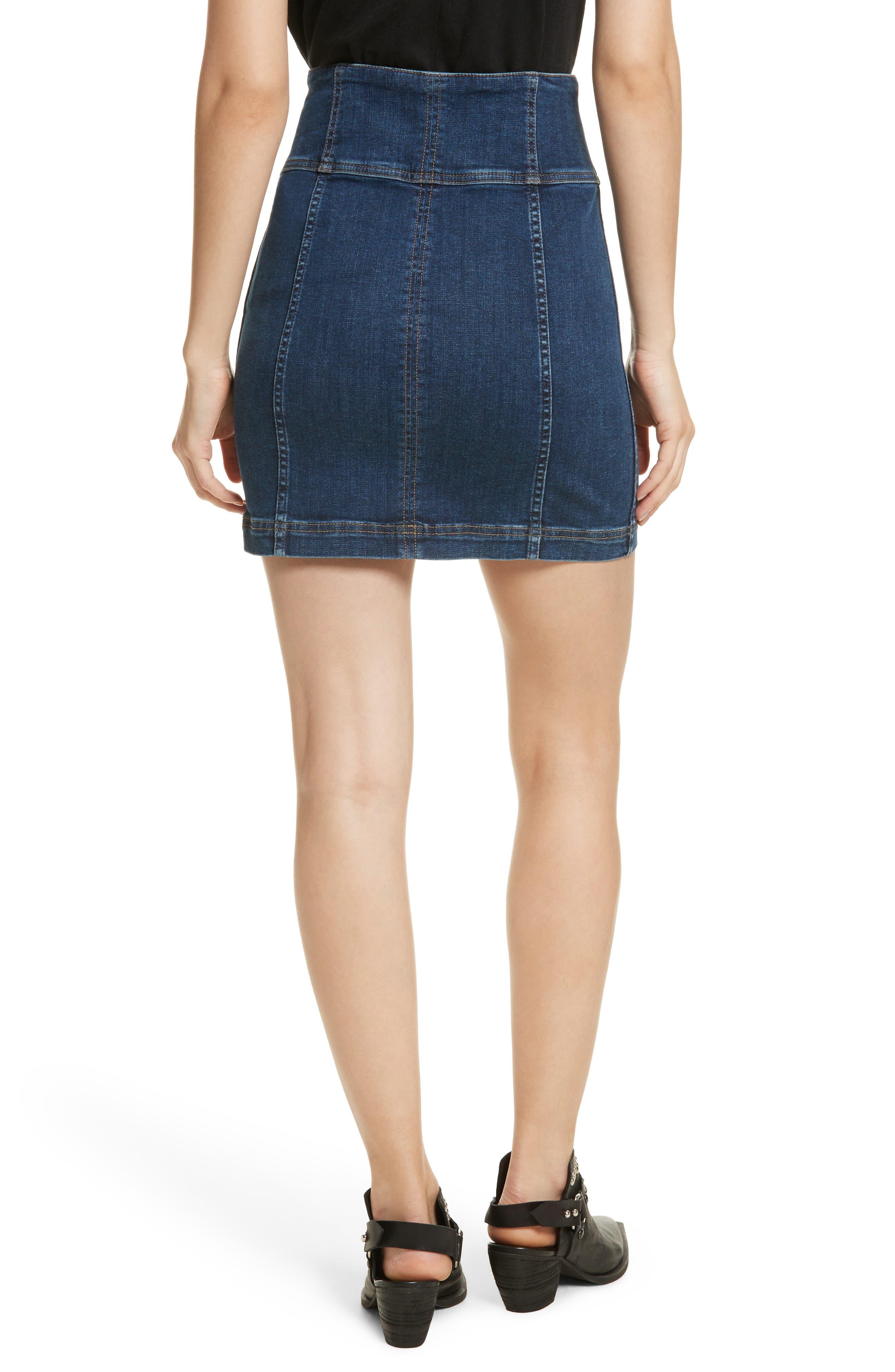 Modern Femme Corset Skirt,                             Alternate thumbnail 2, color,