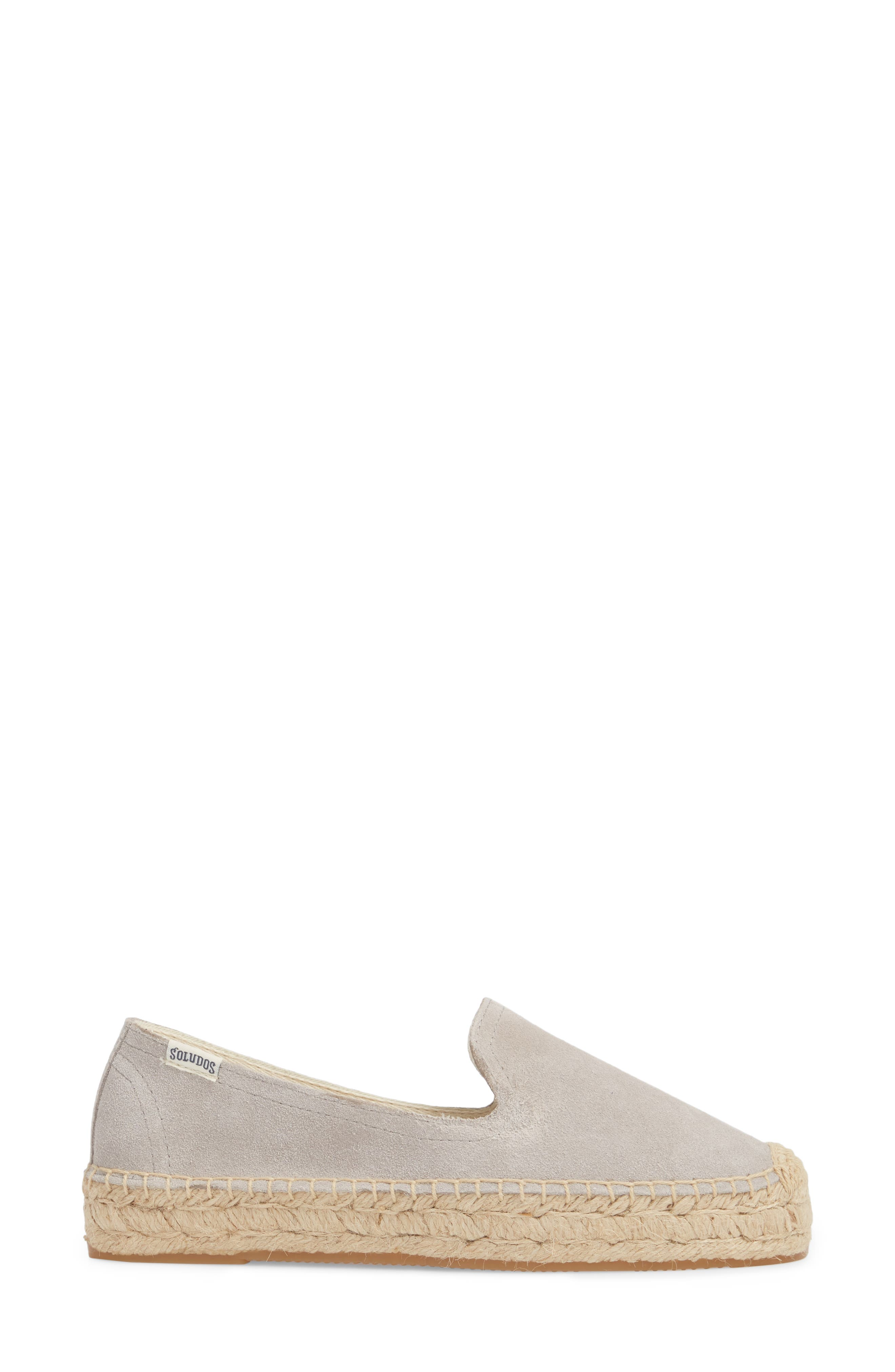 Espadrille Loafer,                             Alternate thumbnail 3, color,                             STONE