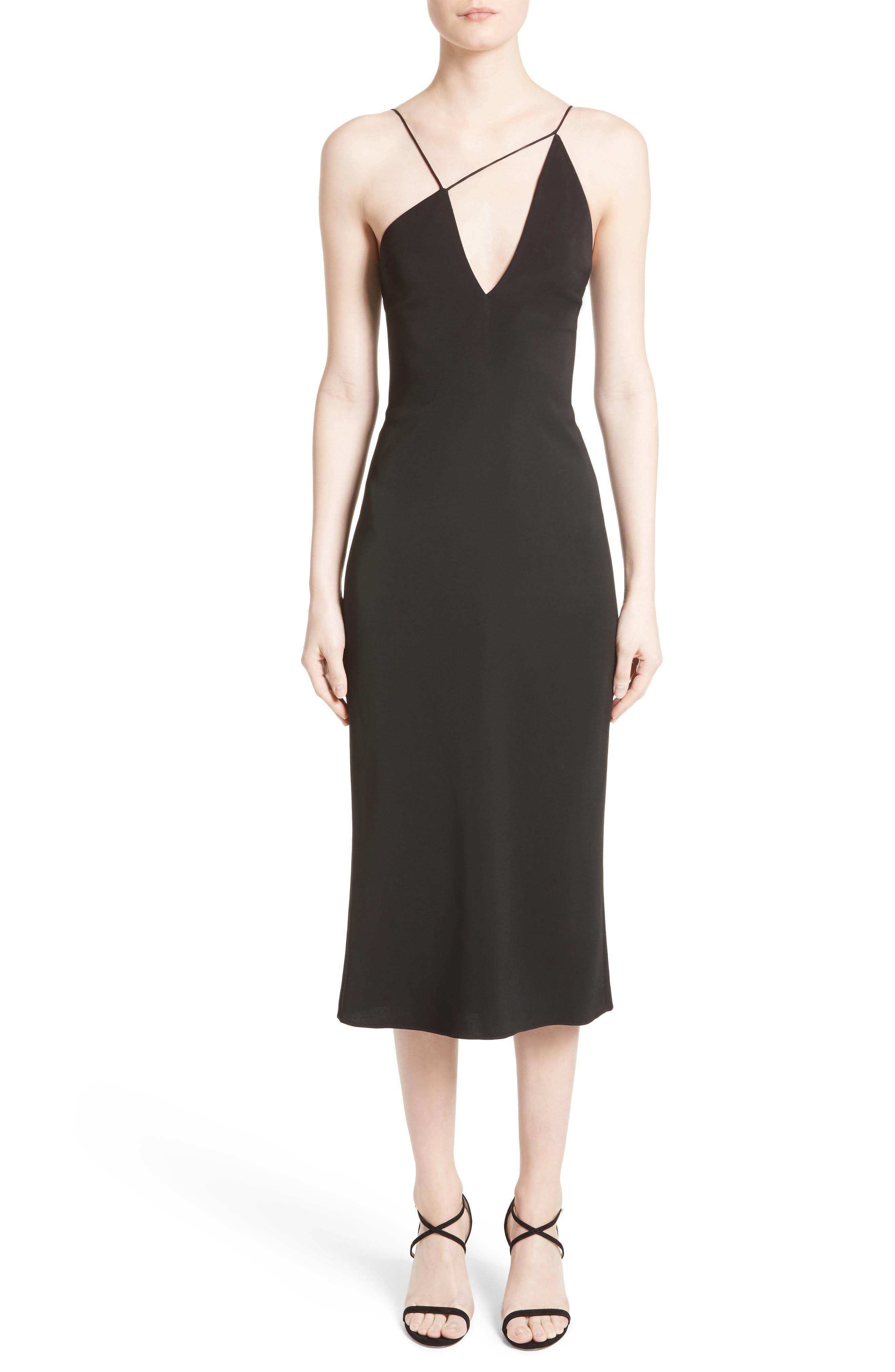 Strappy Pencil Dress,                         Main,                         color, 001